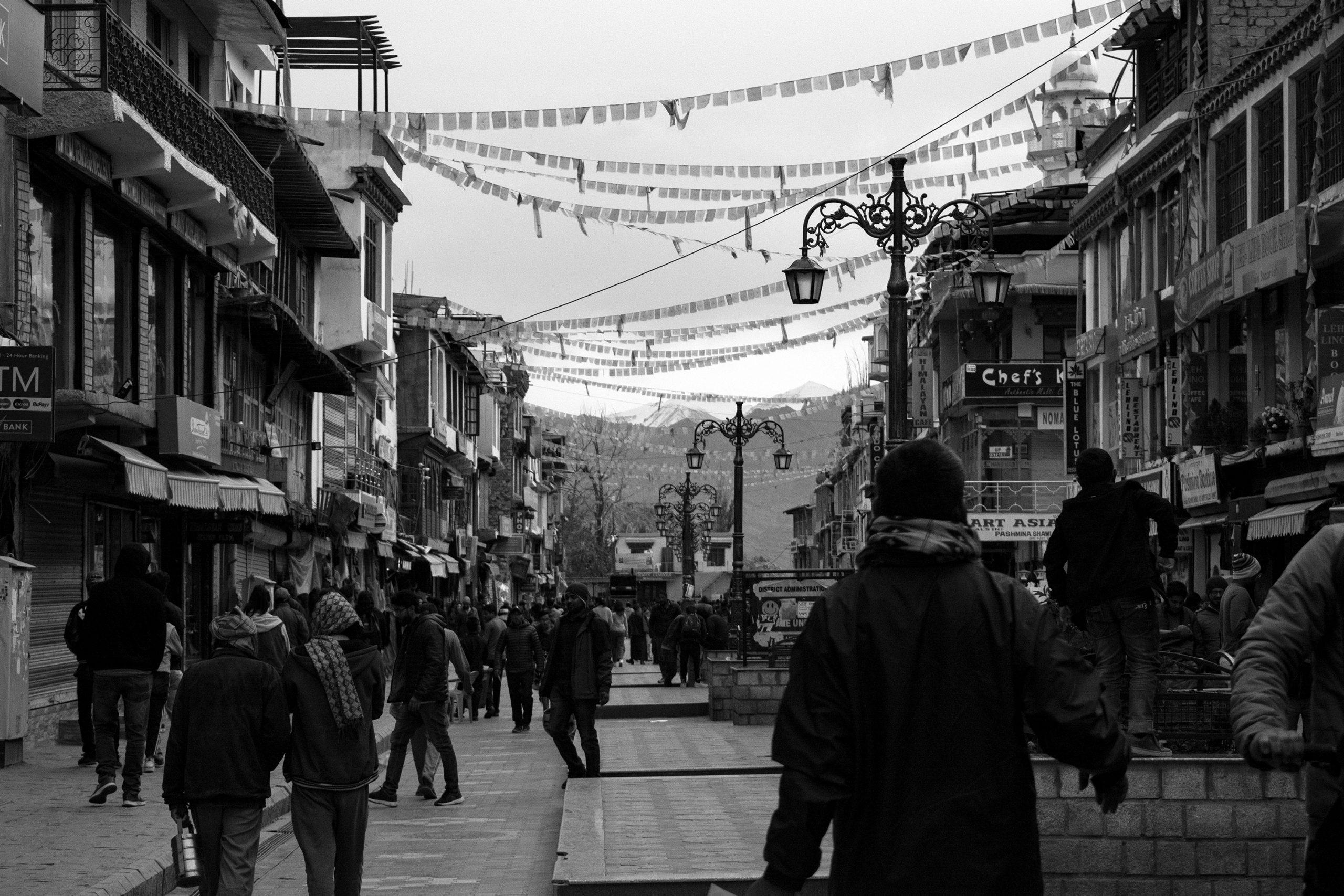 Market Place at Leh