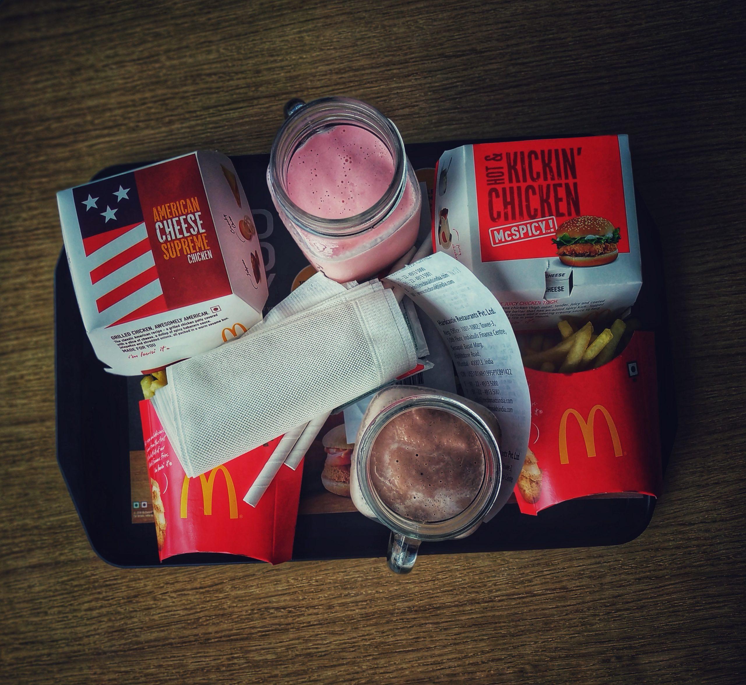 Mc Donald's Meal