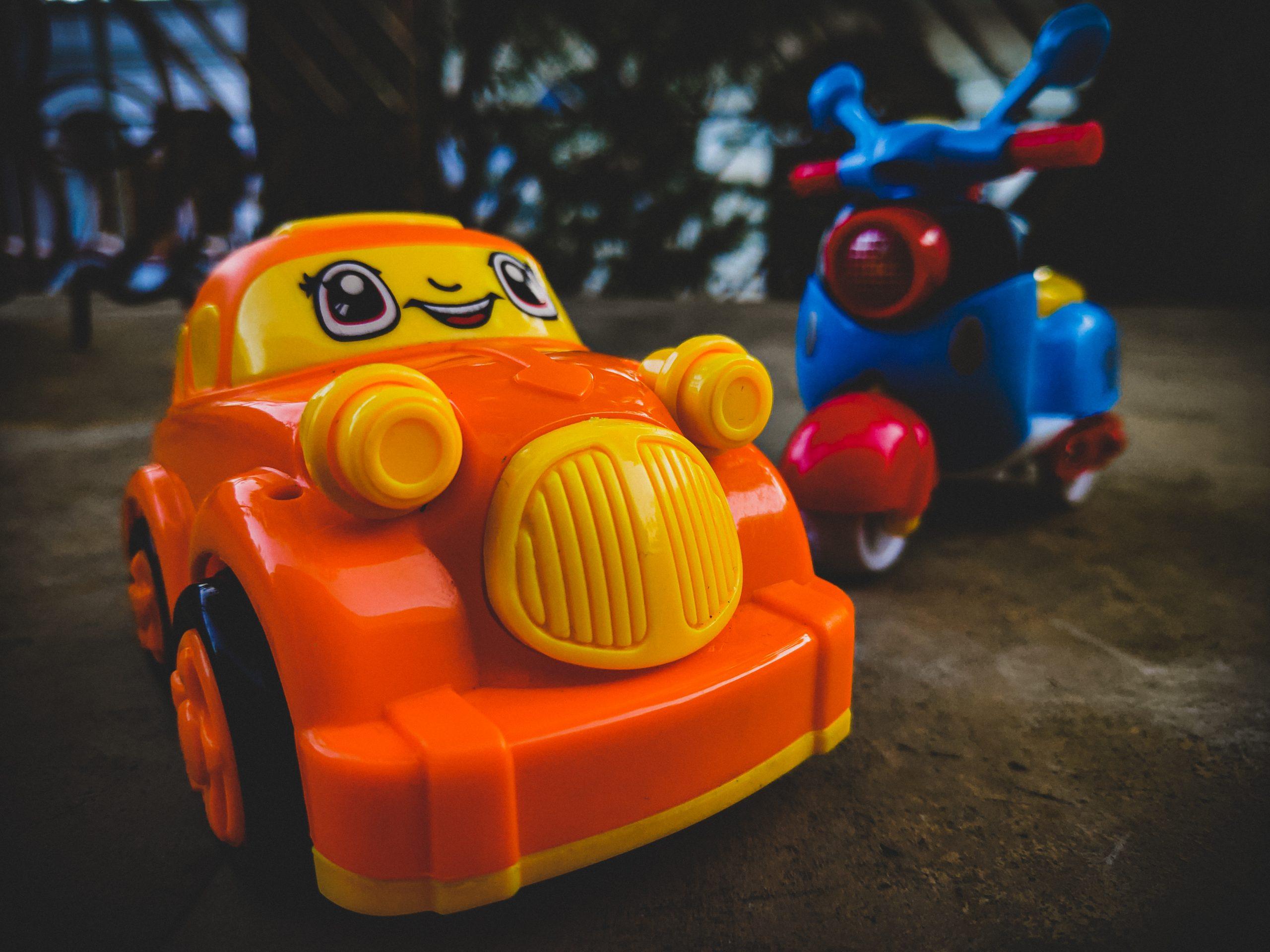 Miniature Car on Focus