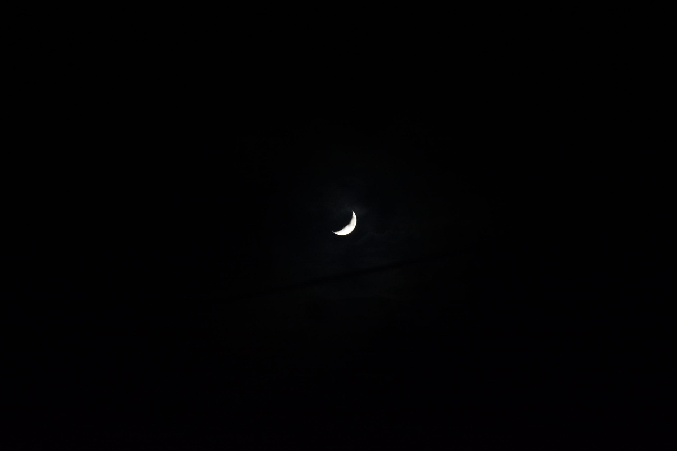 Quarter Moon Scenery