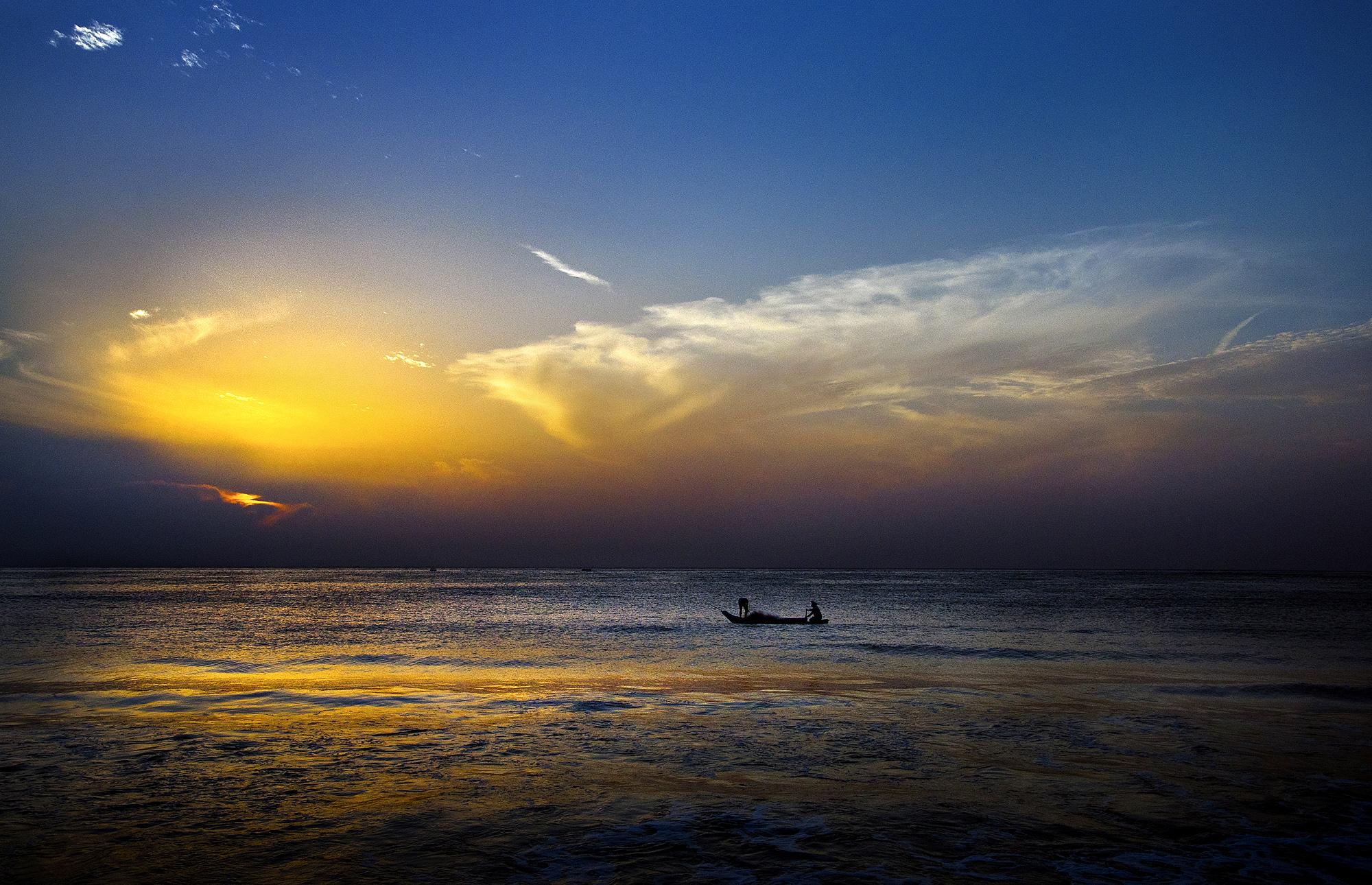 Aesthetic sea view.