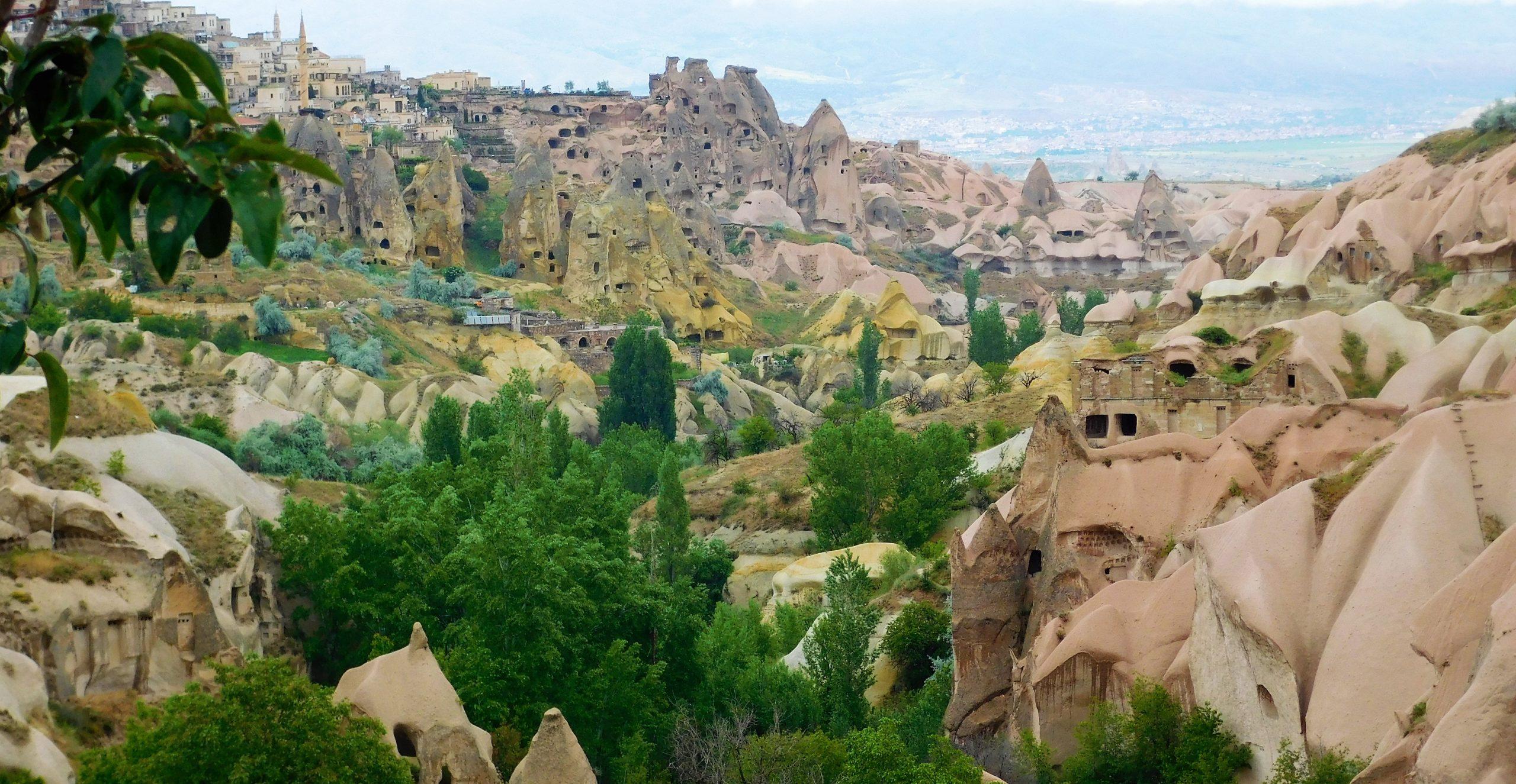 Mountain Village in Cappadocia, Turkey