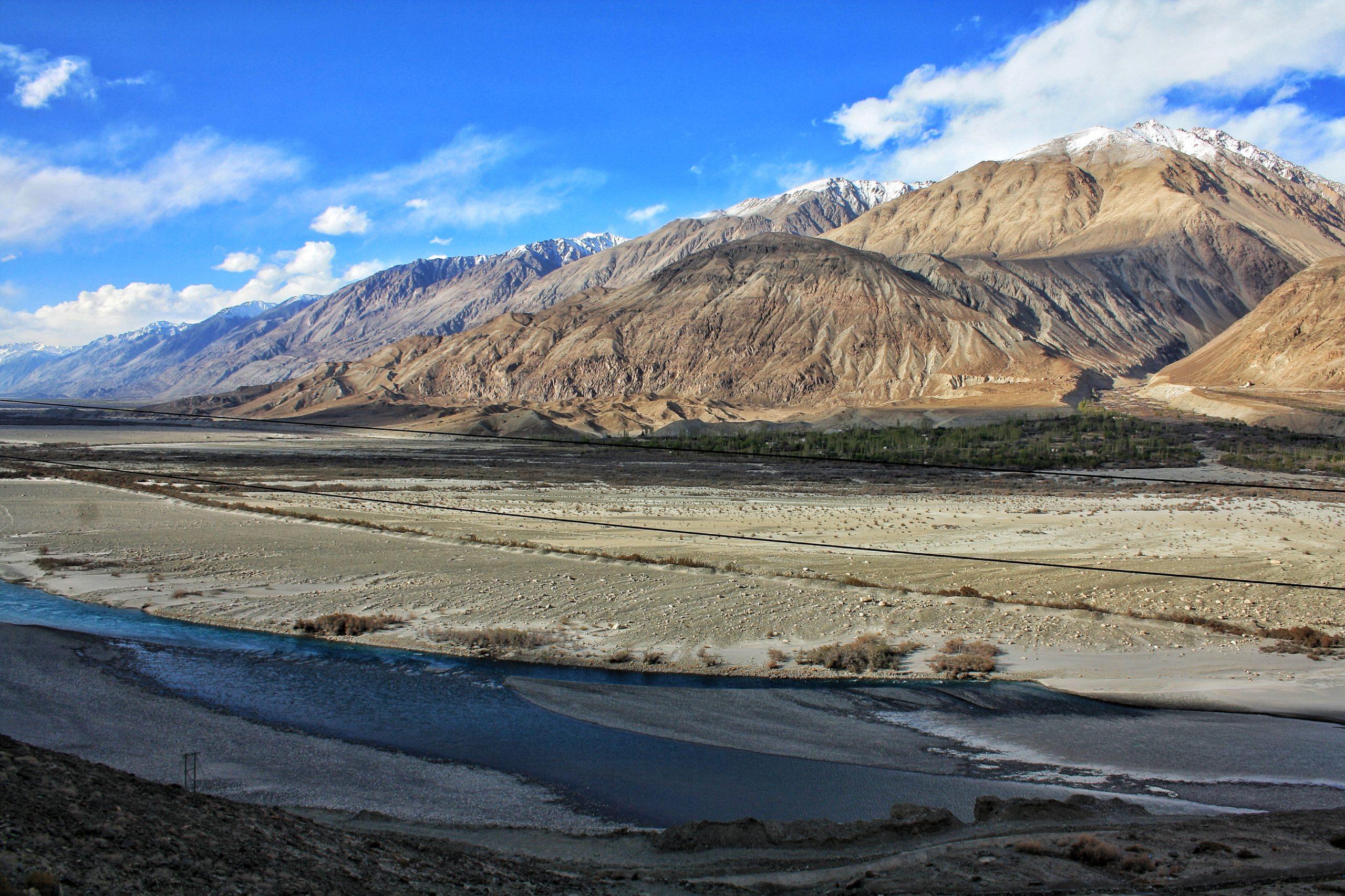 Mountain passes of Leh
