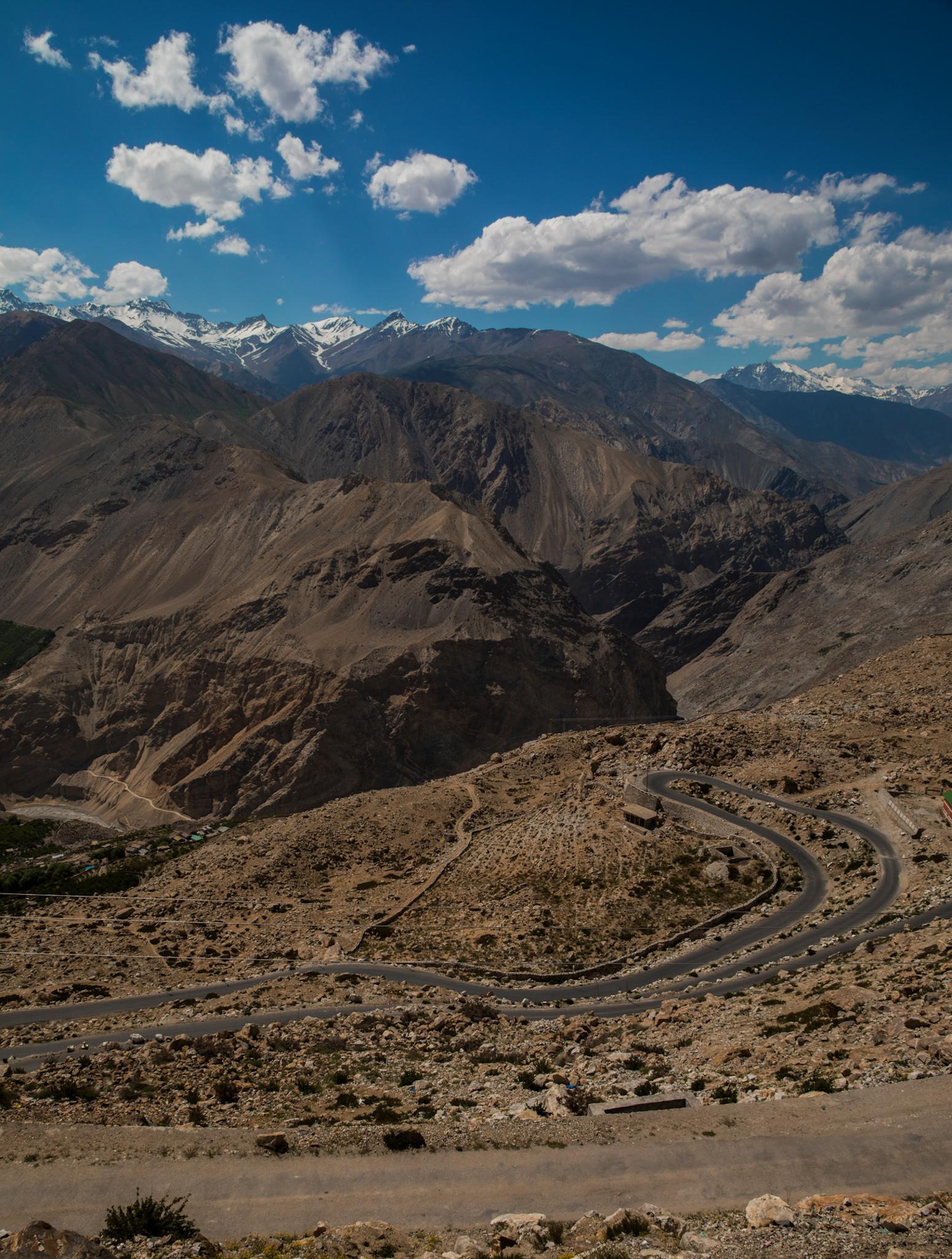 Mountainous Terrain in Himachal Pradesh