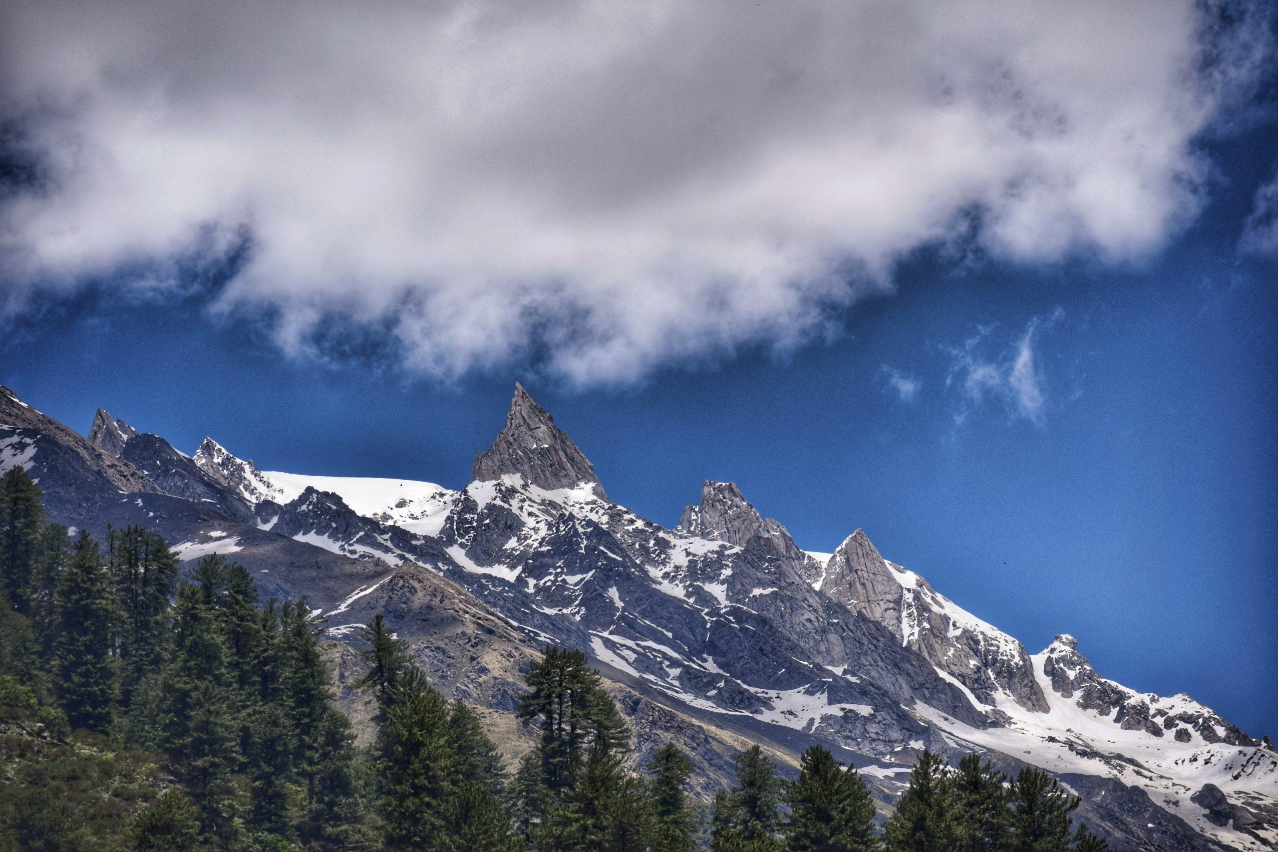 Mountains of Shivalik Range