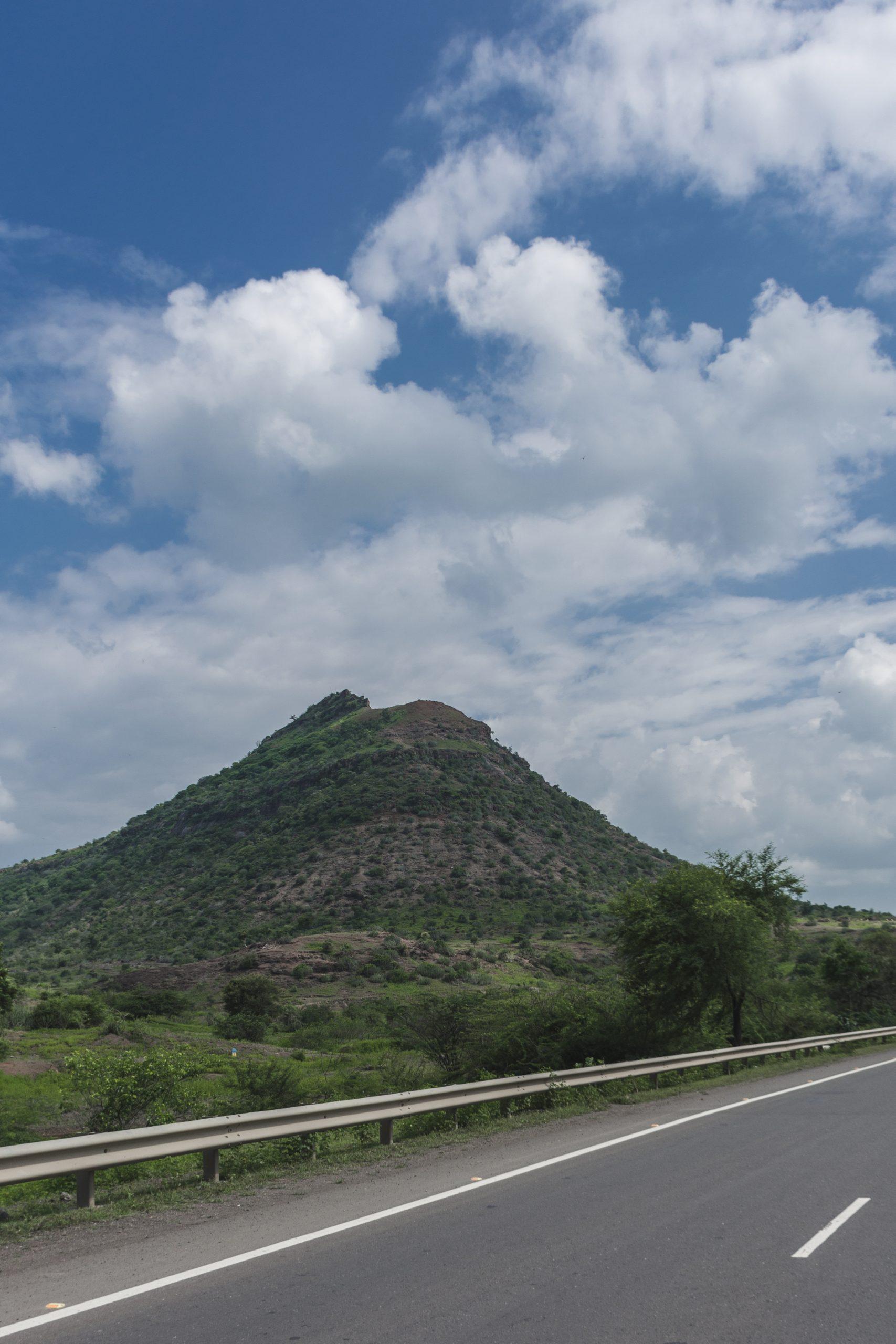 road along mountains