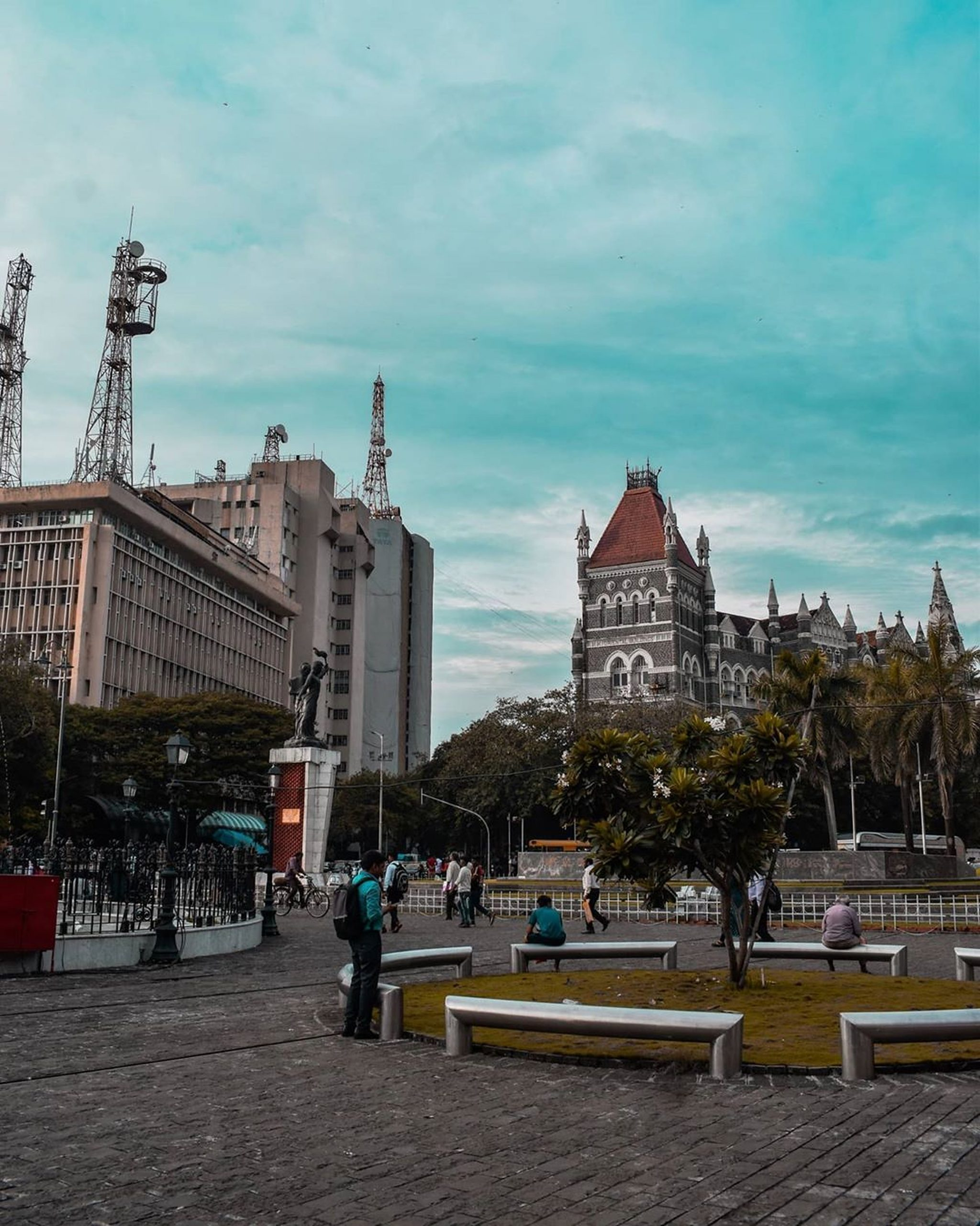 Streets of Mumbai.