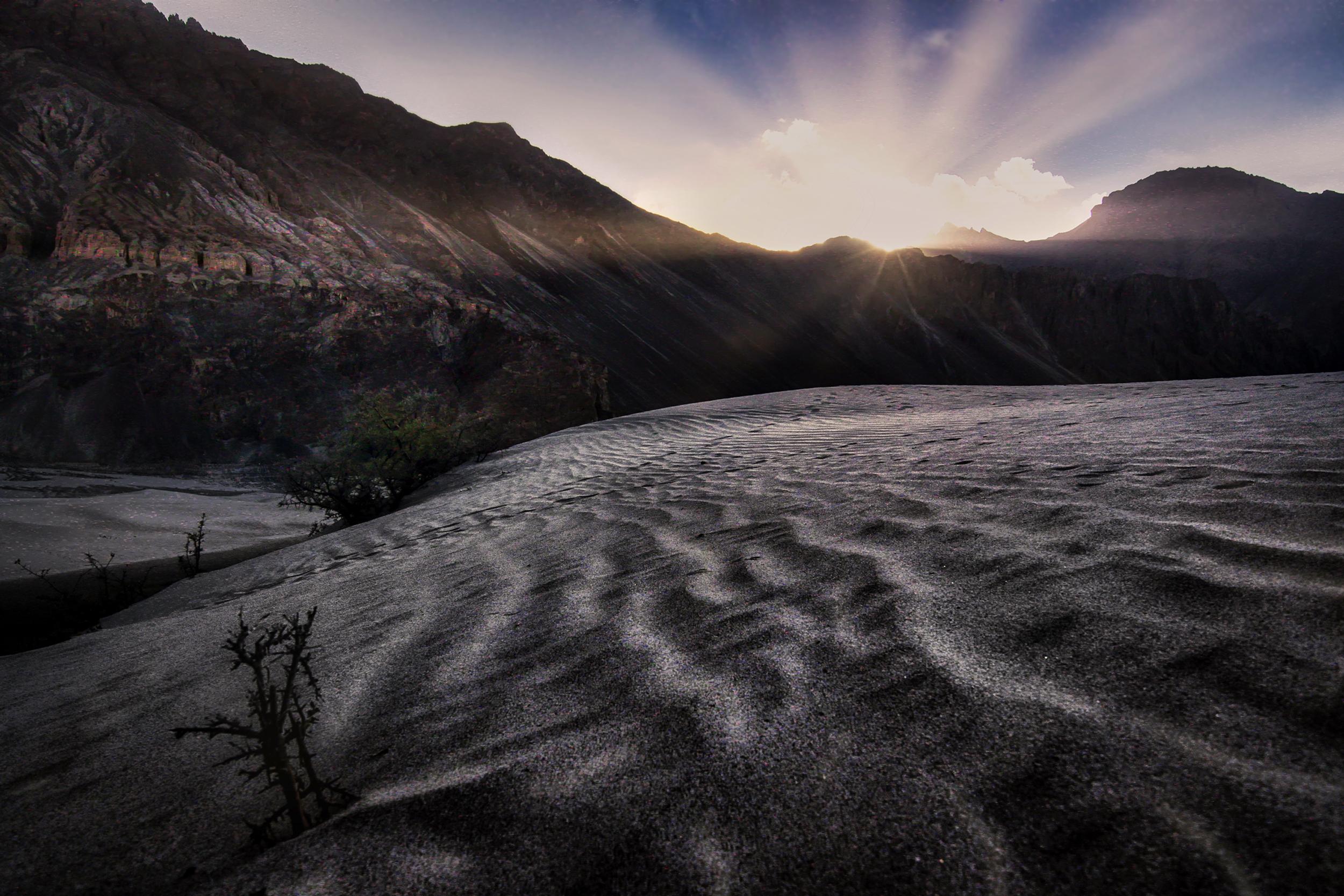 Nubra Valley Sunrise