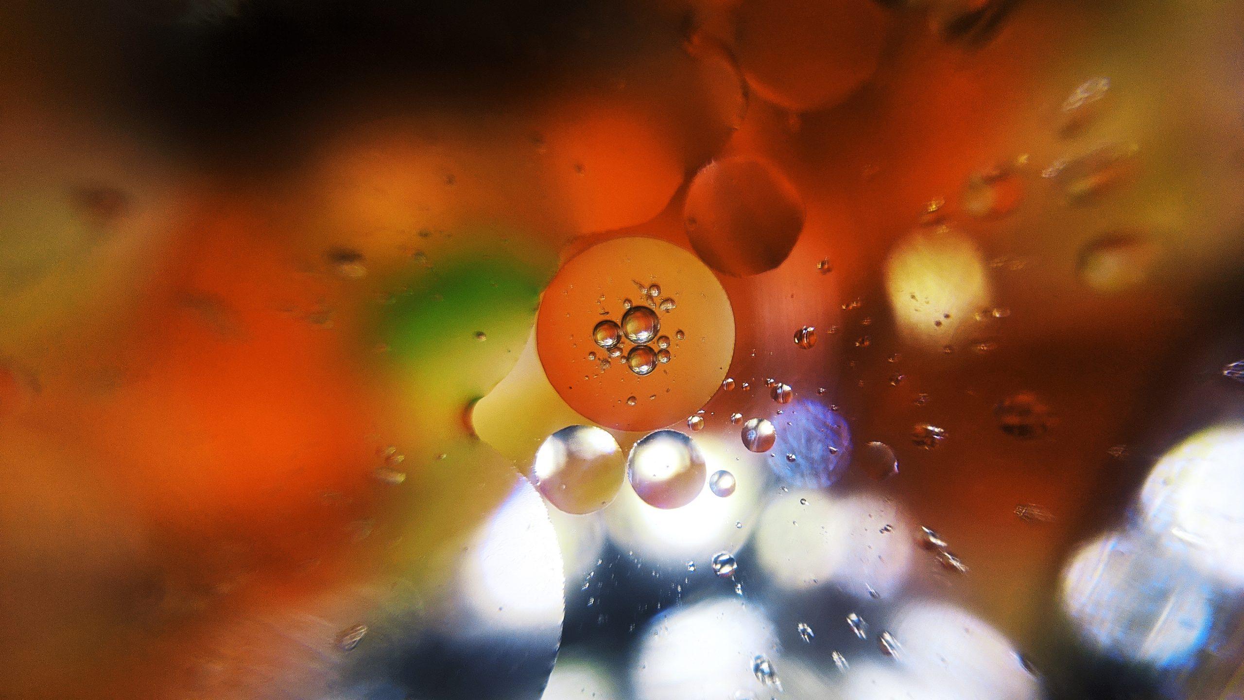 Oil water effect