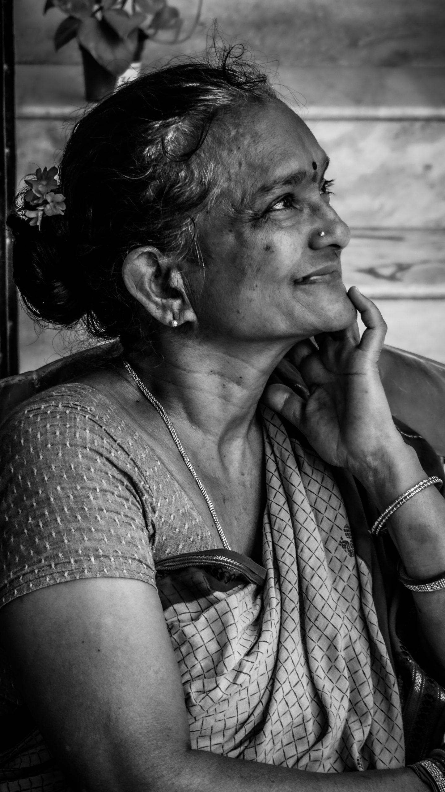 Old Women Portrait