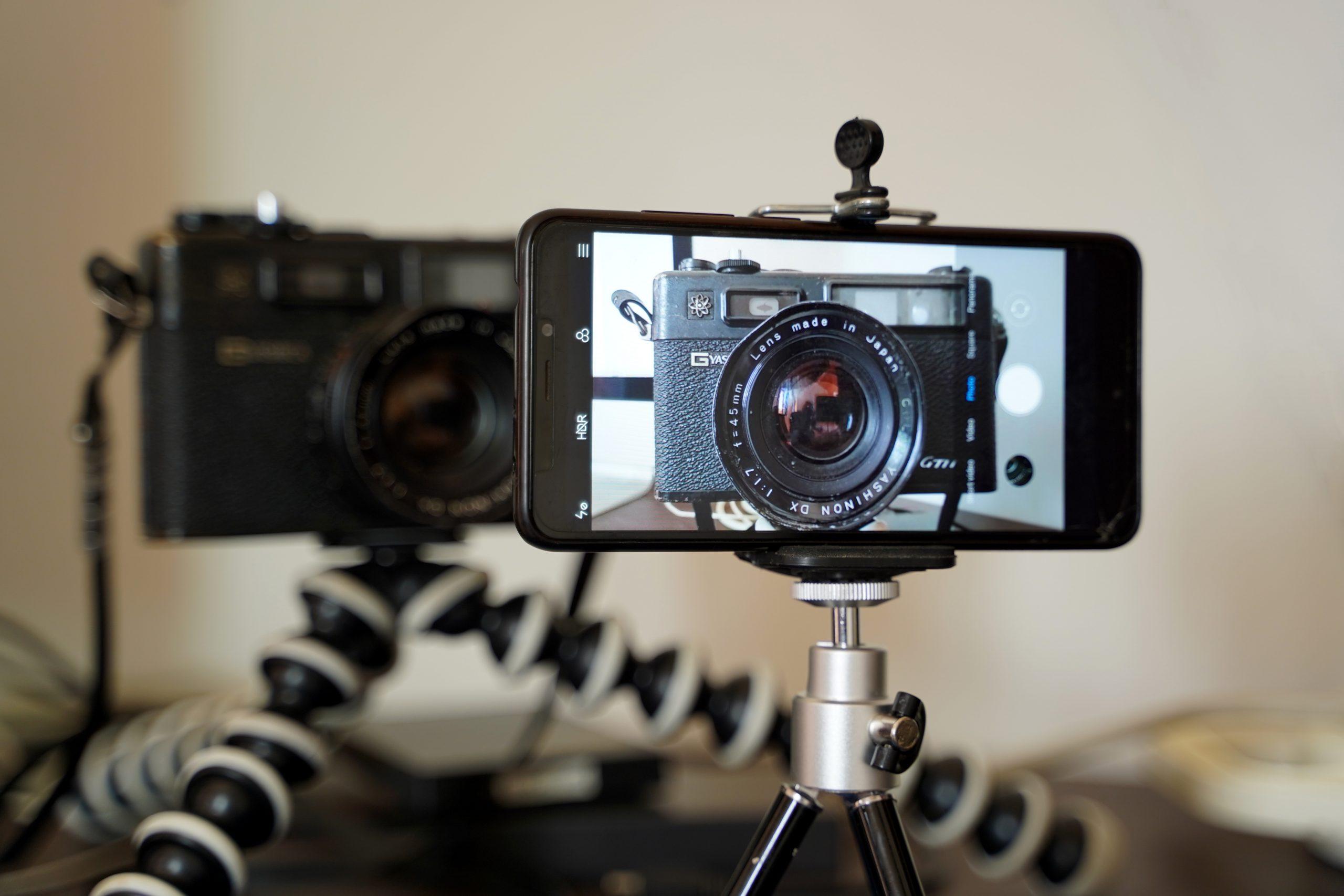Smartphone and Digital Camera