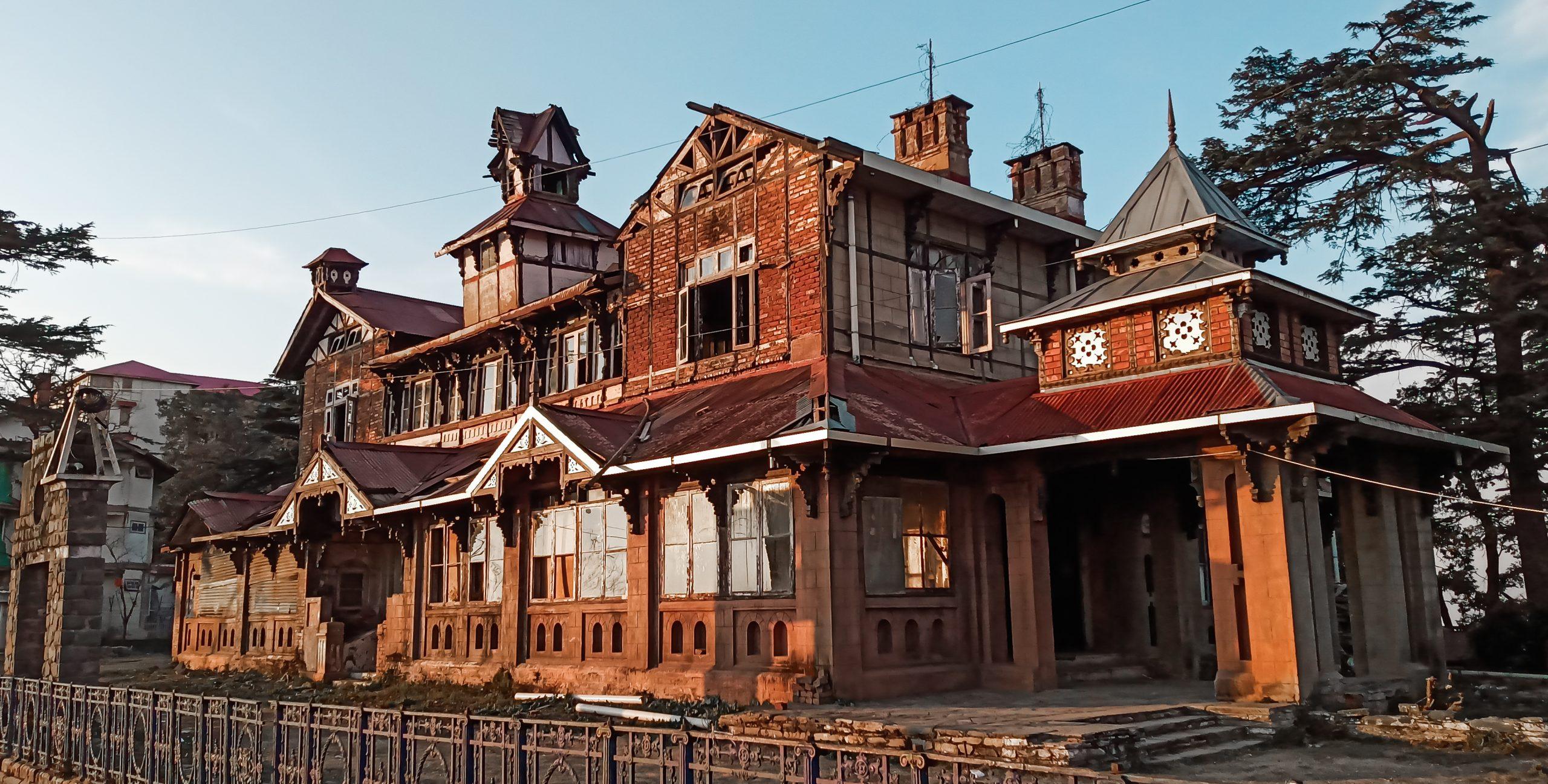 Old vintage house