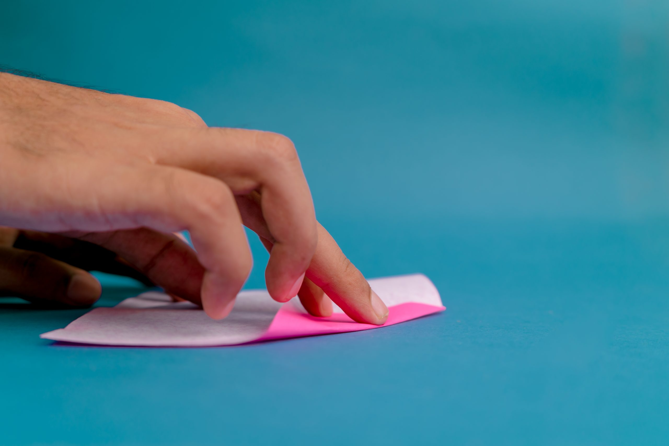 Origami making