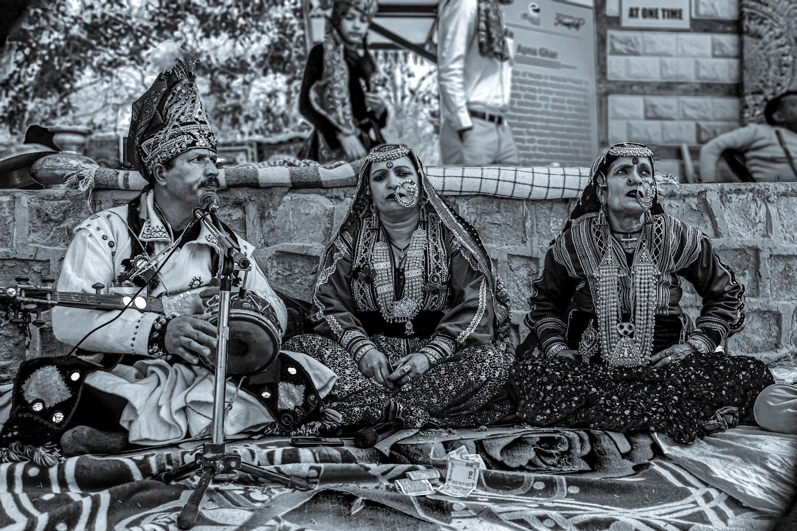 Sufi singers performing