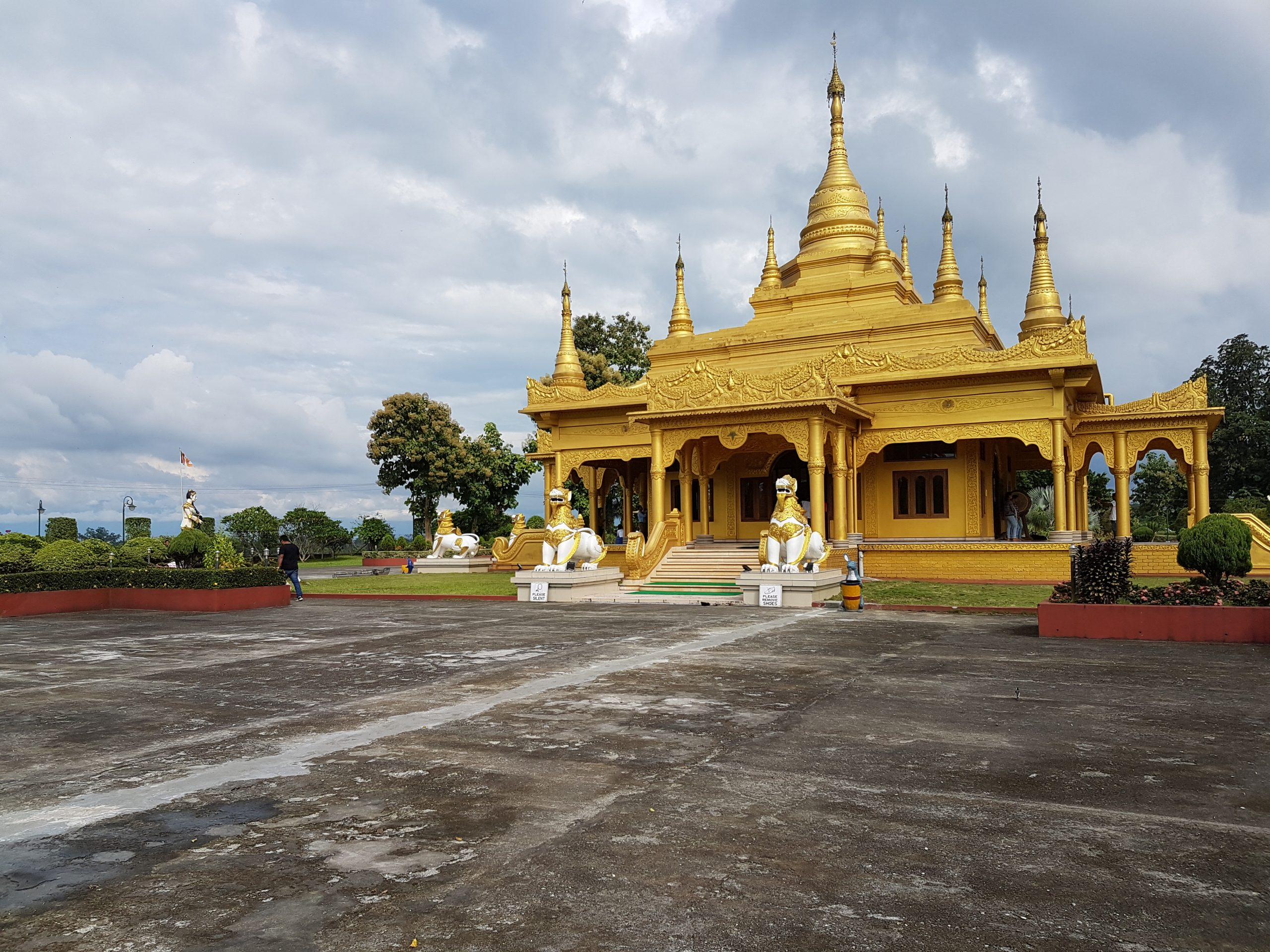 Pagoda Temple for worship