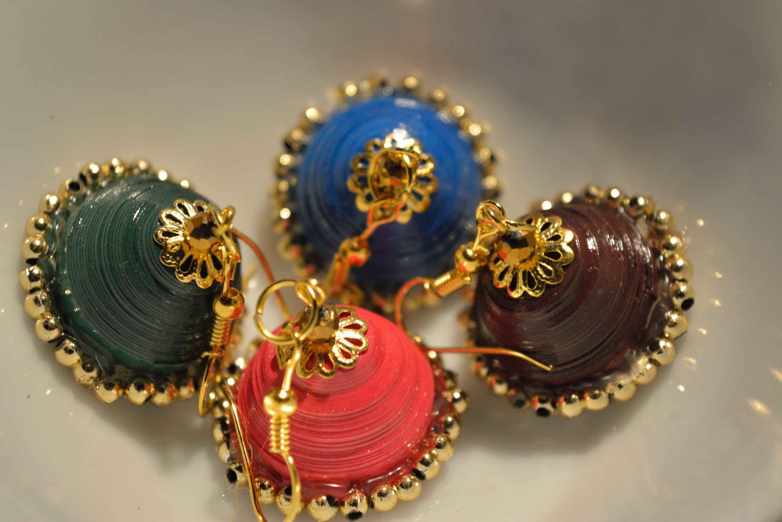 Pairs of Colorful Earings