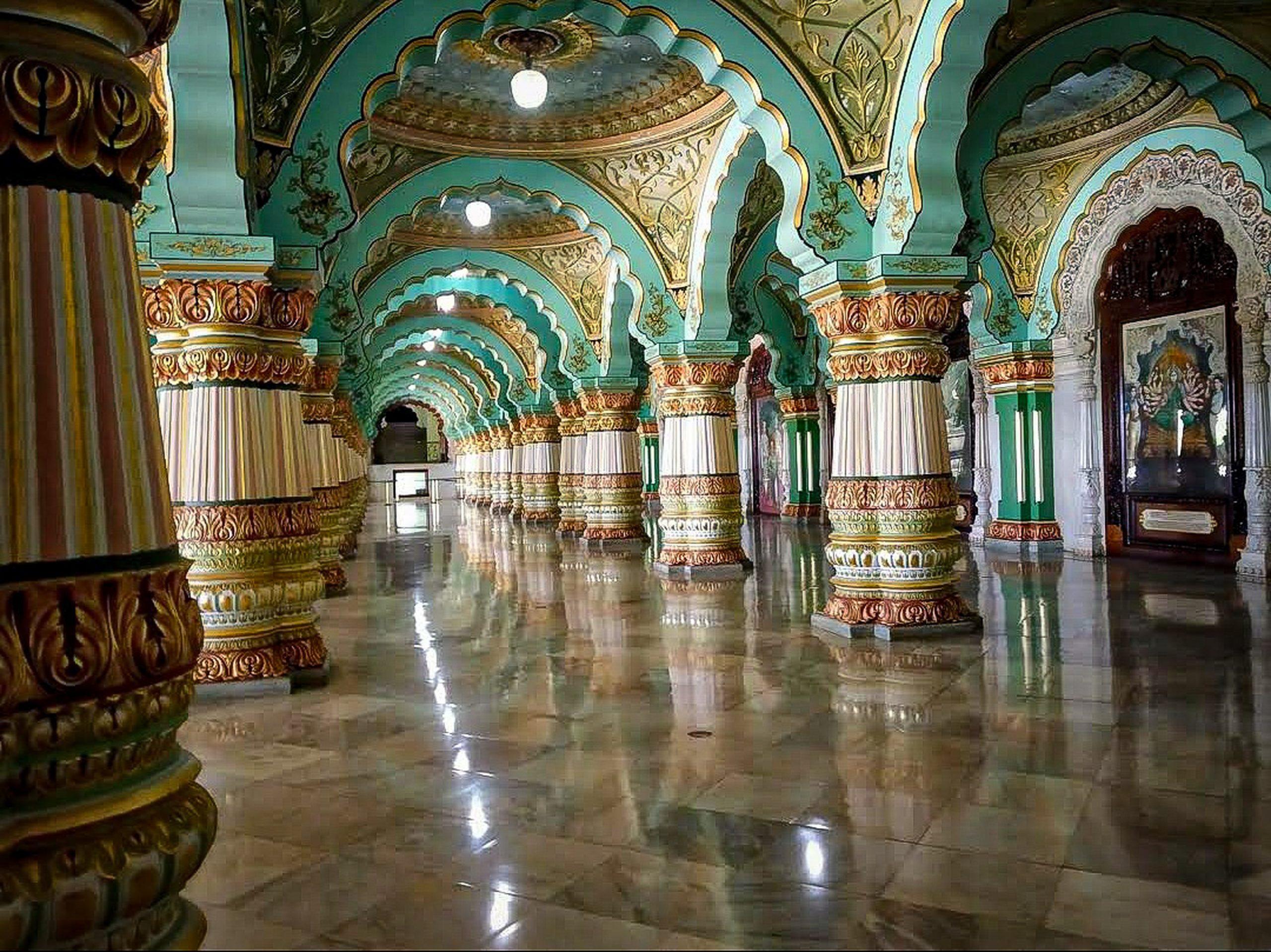 palace aisle