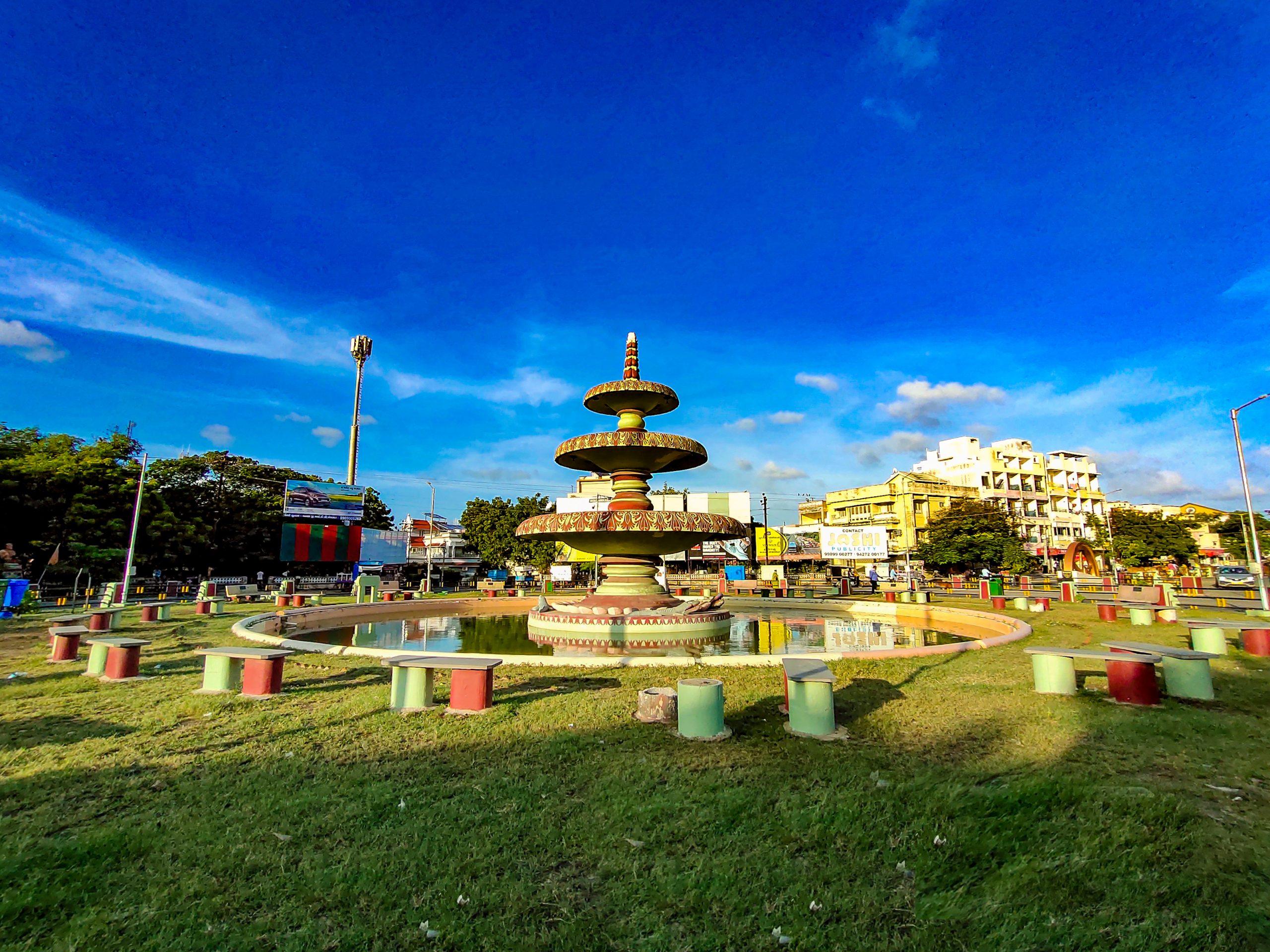 Paradise Fountain in Porbandar