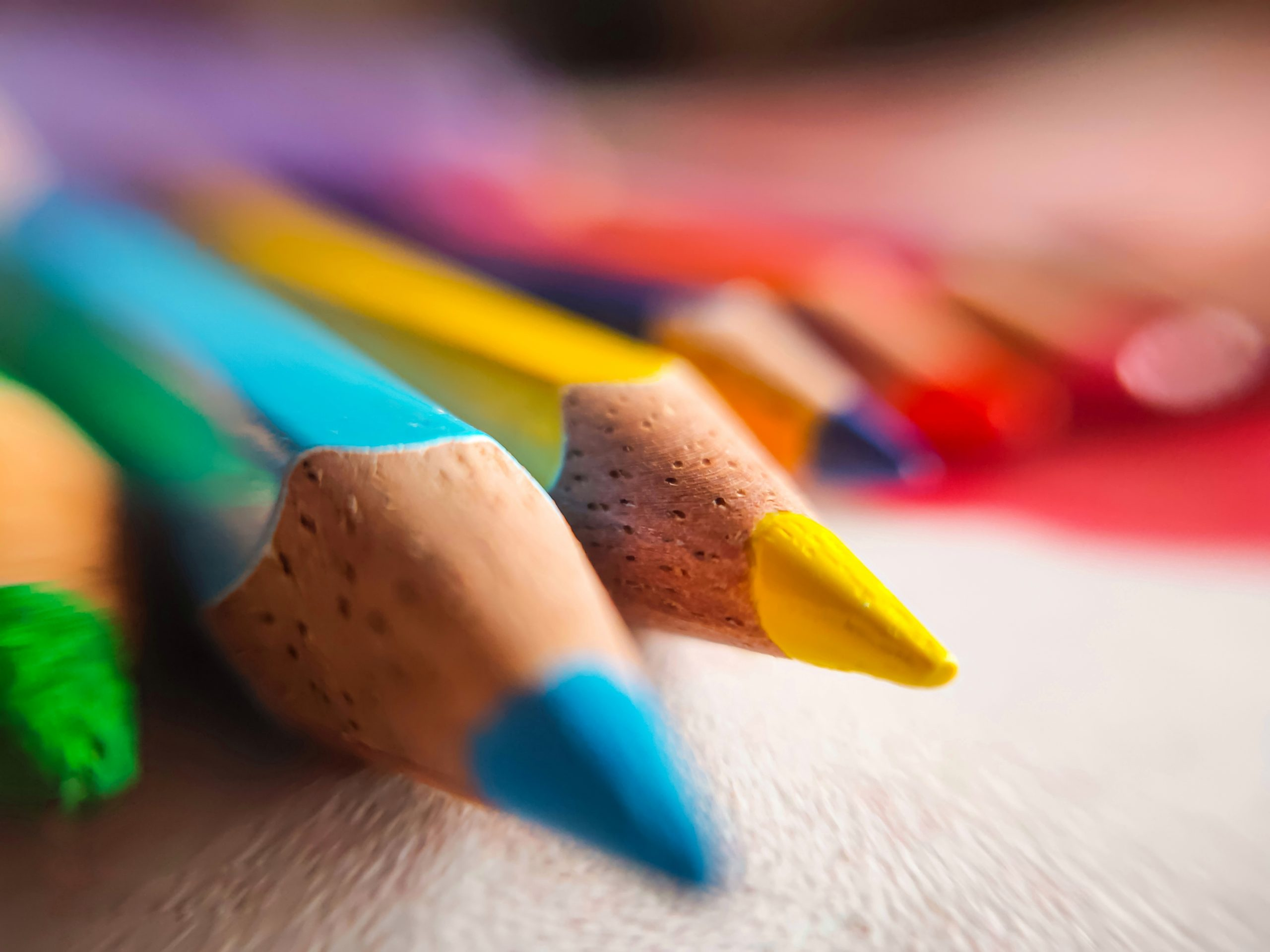 Color pencils for drawing