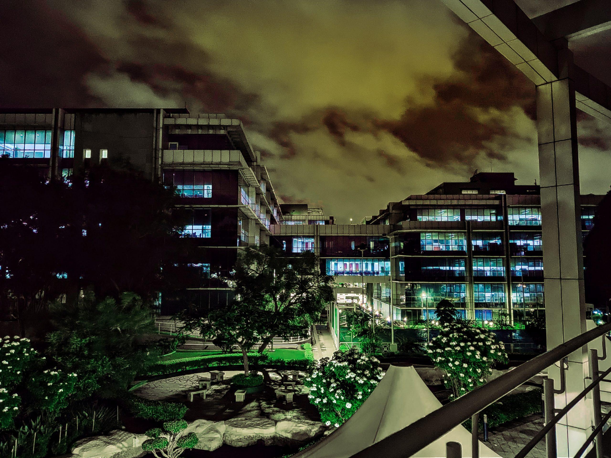 Penthouse Apartment at Night
