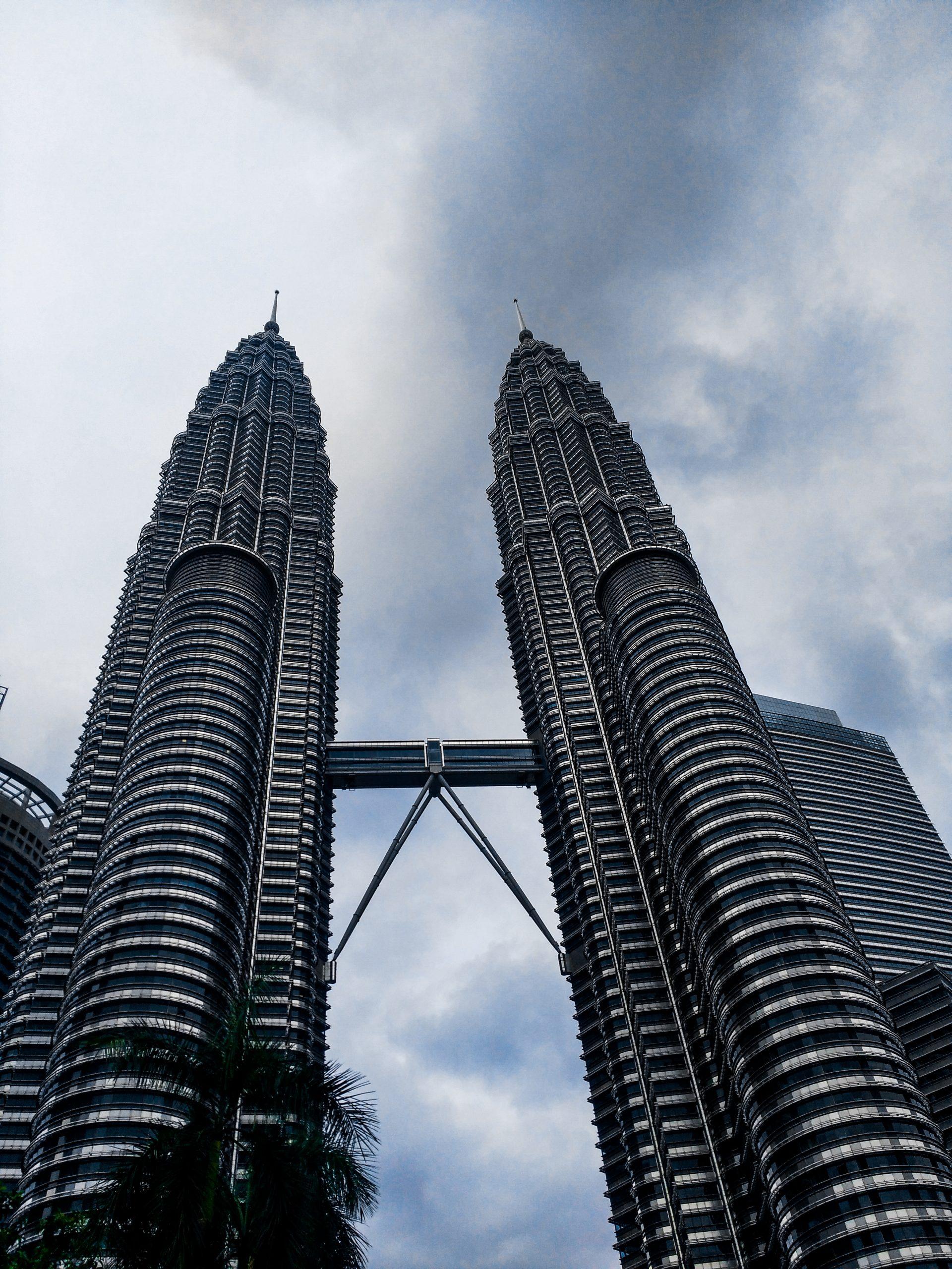 Petrona's Twin Tower in Malaysia