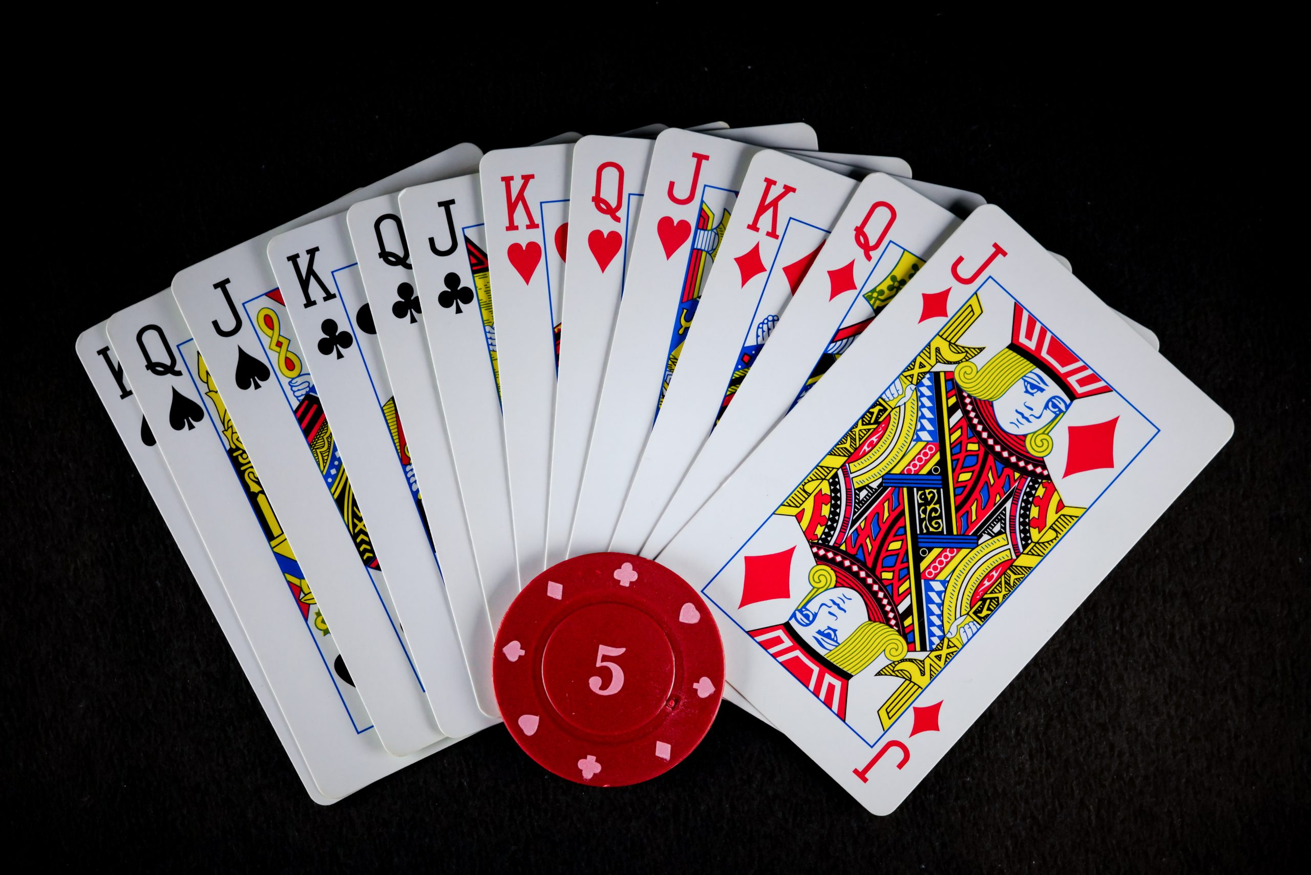 Playing Cards and poker chip