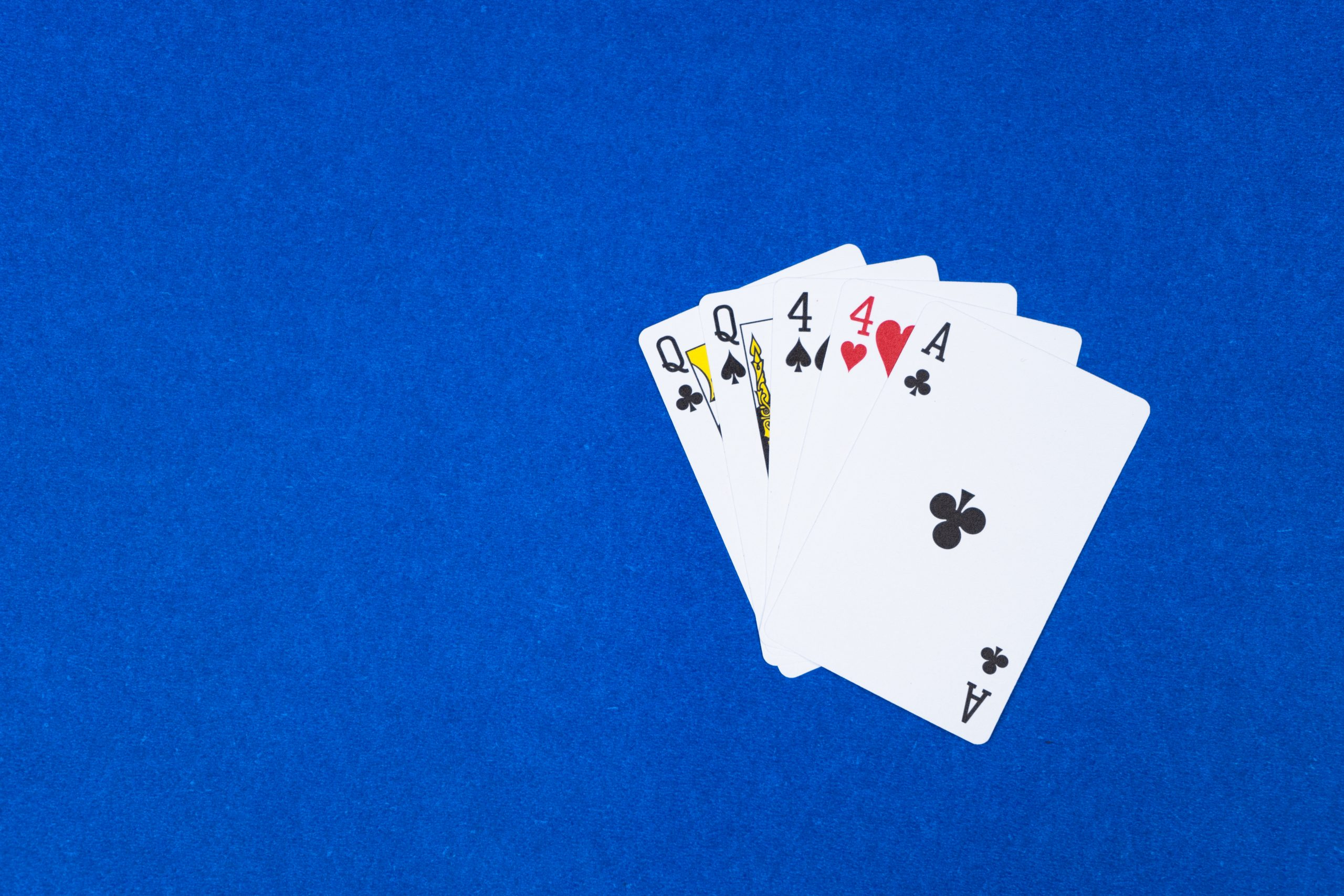 Poker Two Pair hand