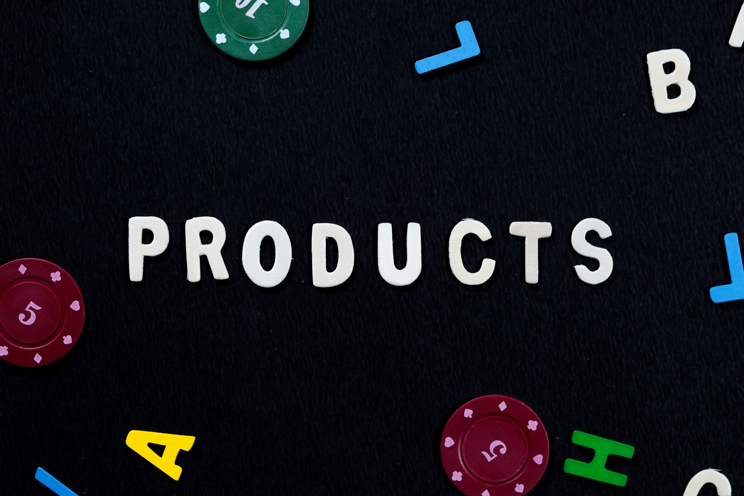 Products written in English language