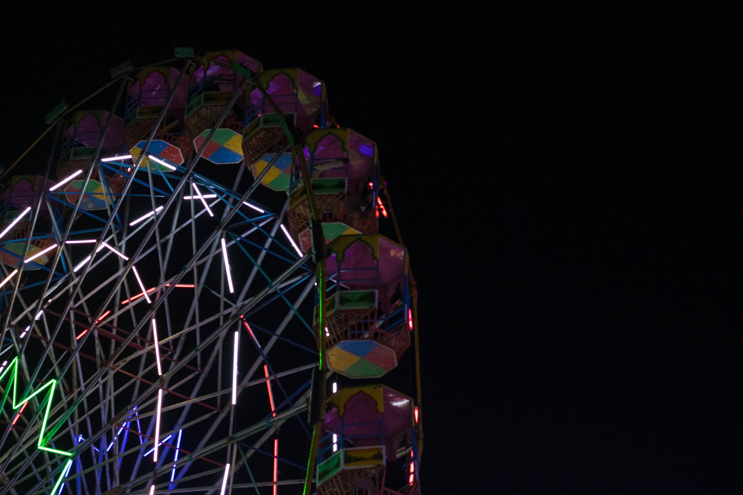 Big wheel in Pushkar Fair 2019.