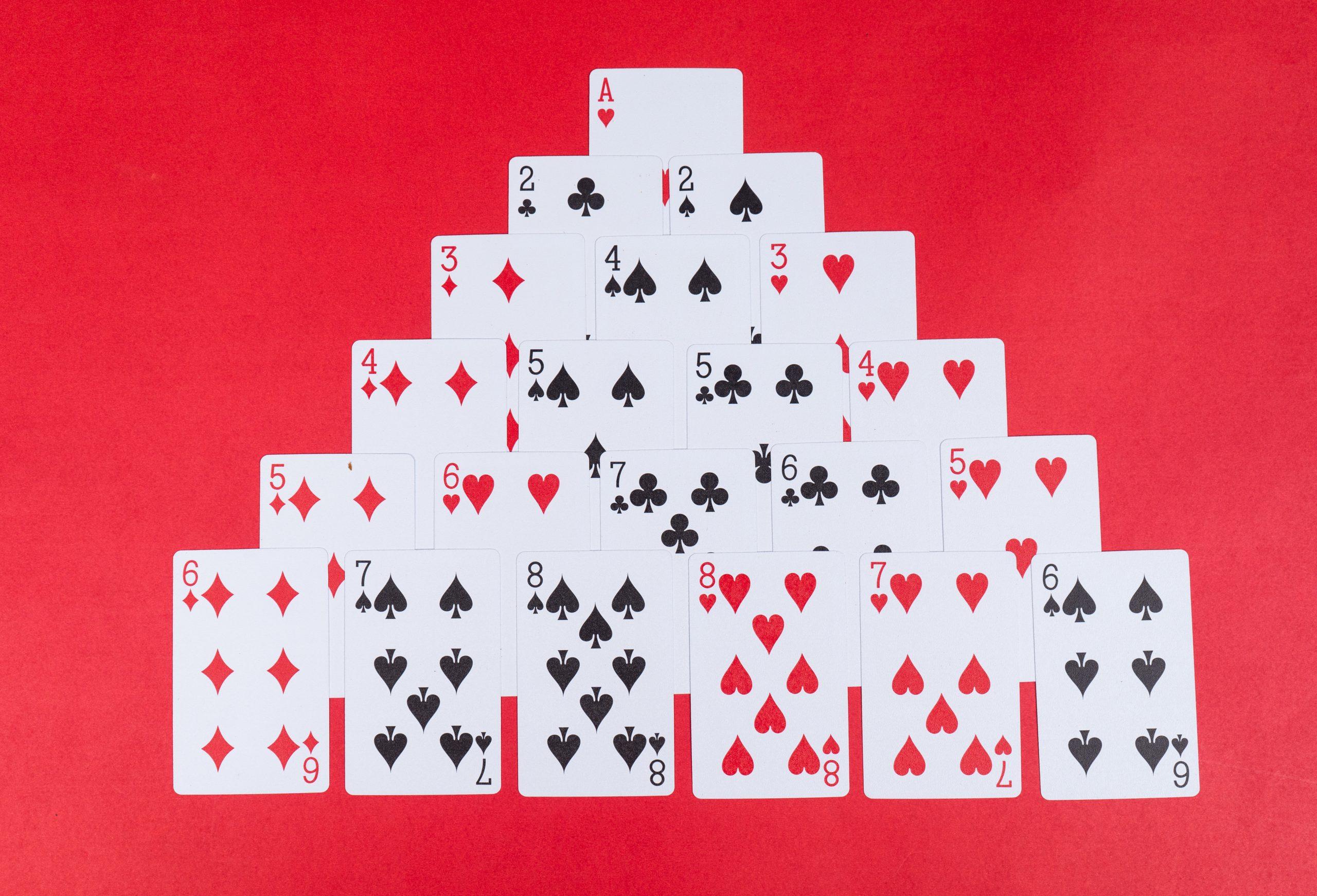 Pyramids Card Game