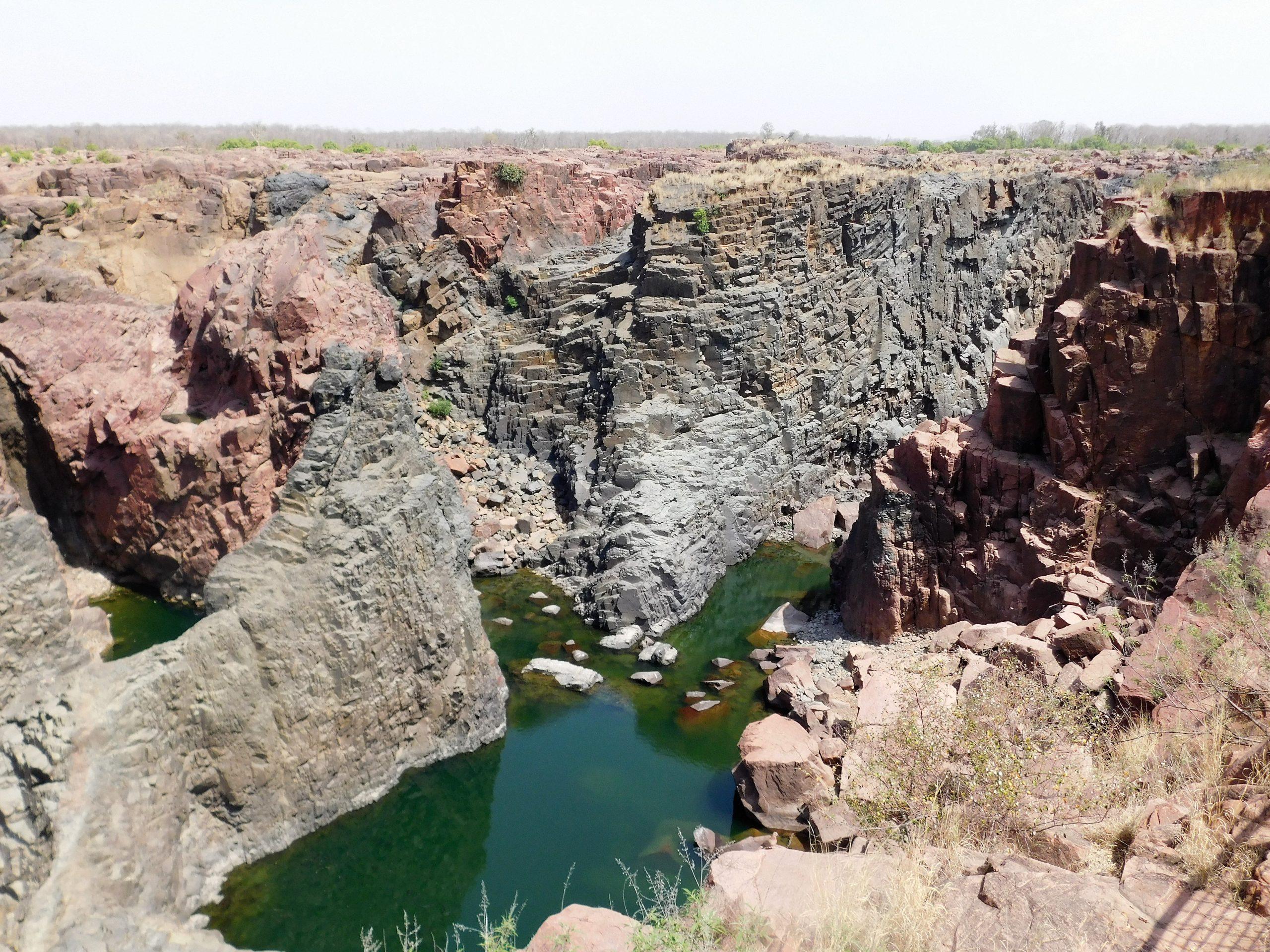 Raneh Falls Canyon in India