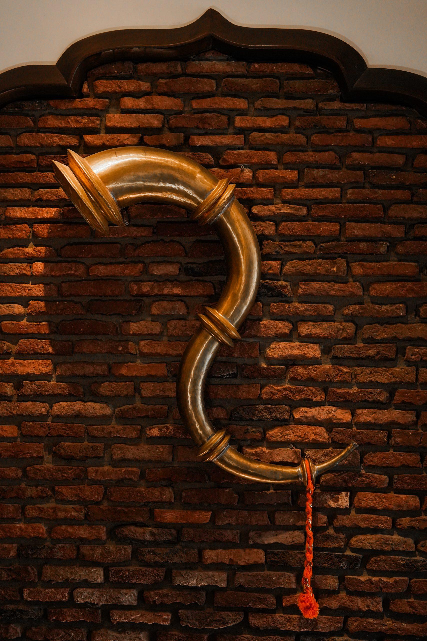 Ransingha Copper Musical Instrument