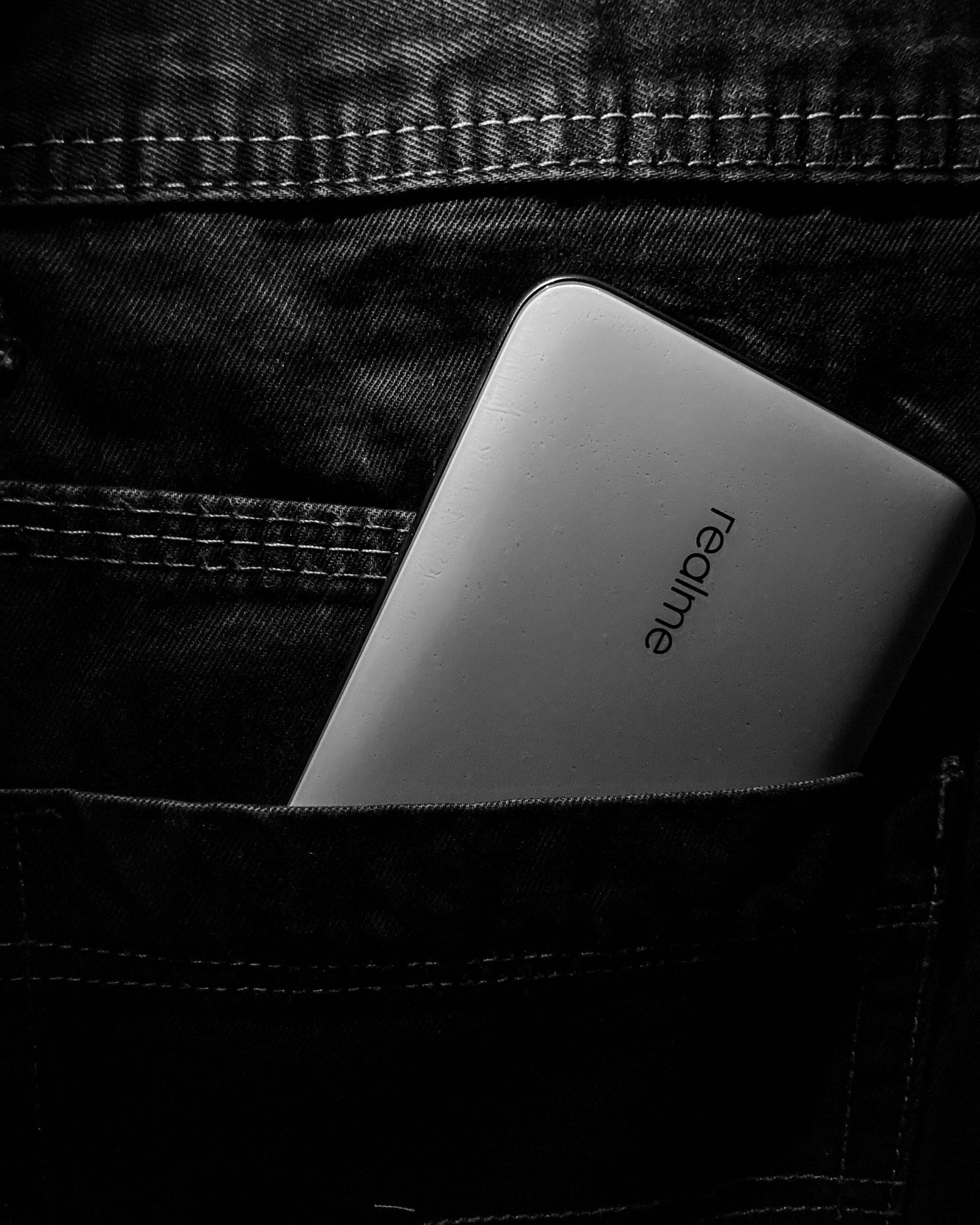 Realme Phone in the Pocket