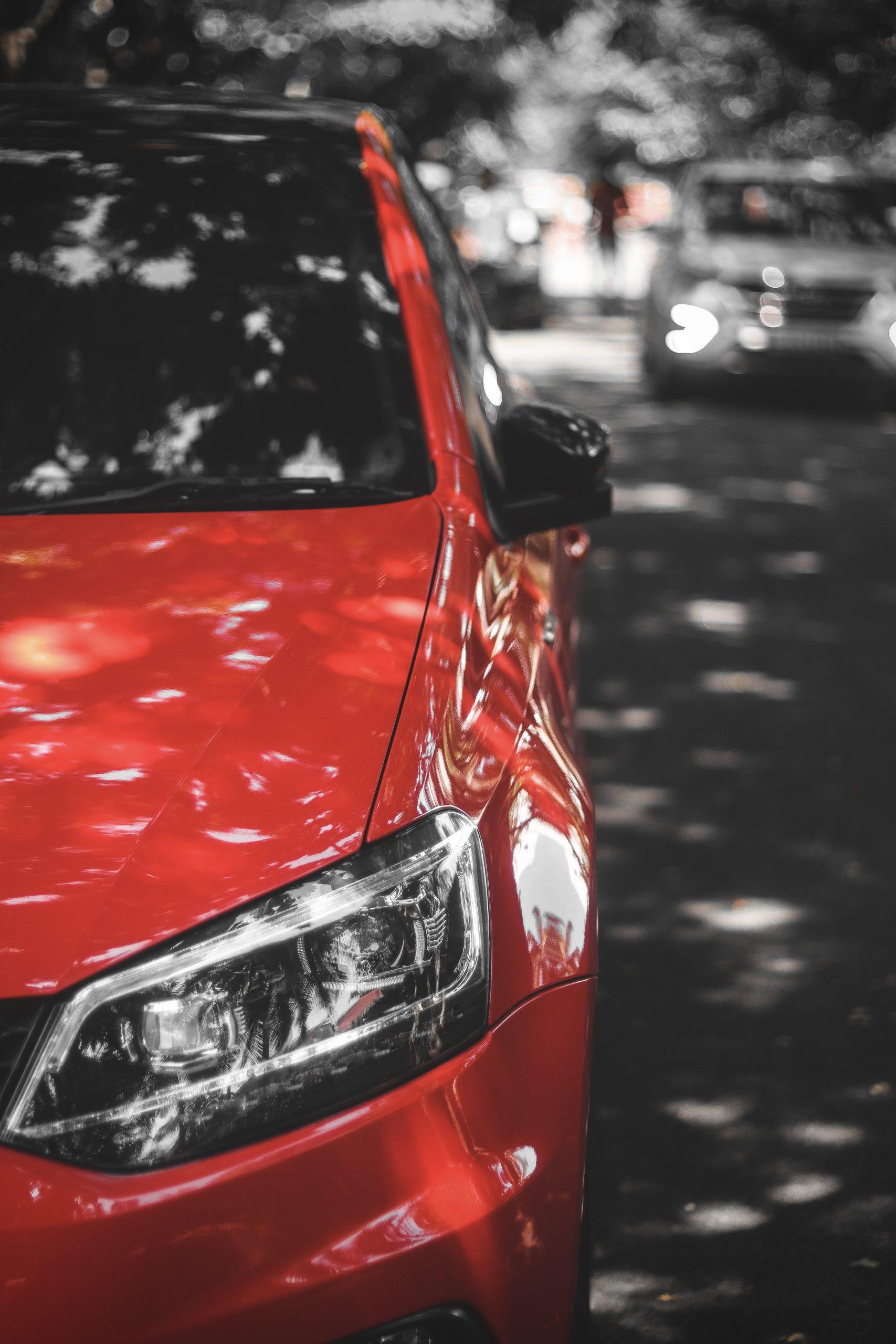 Red Car Half Portion