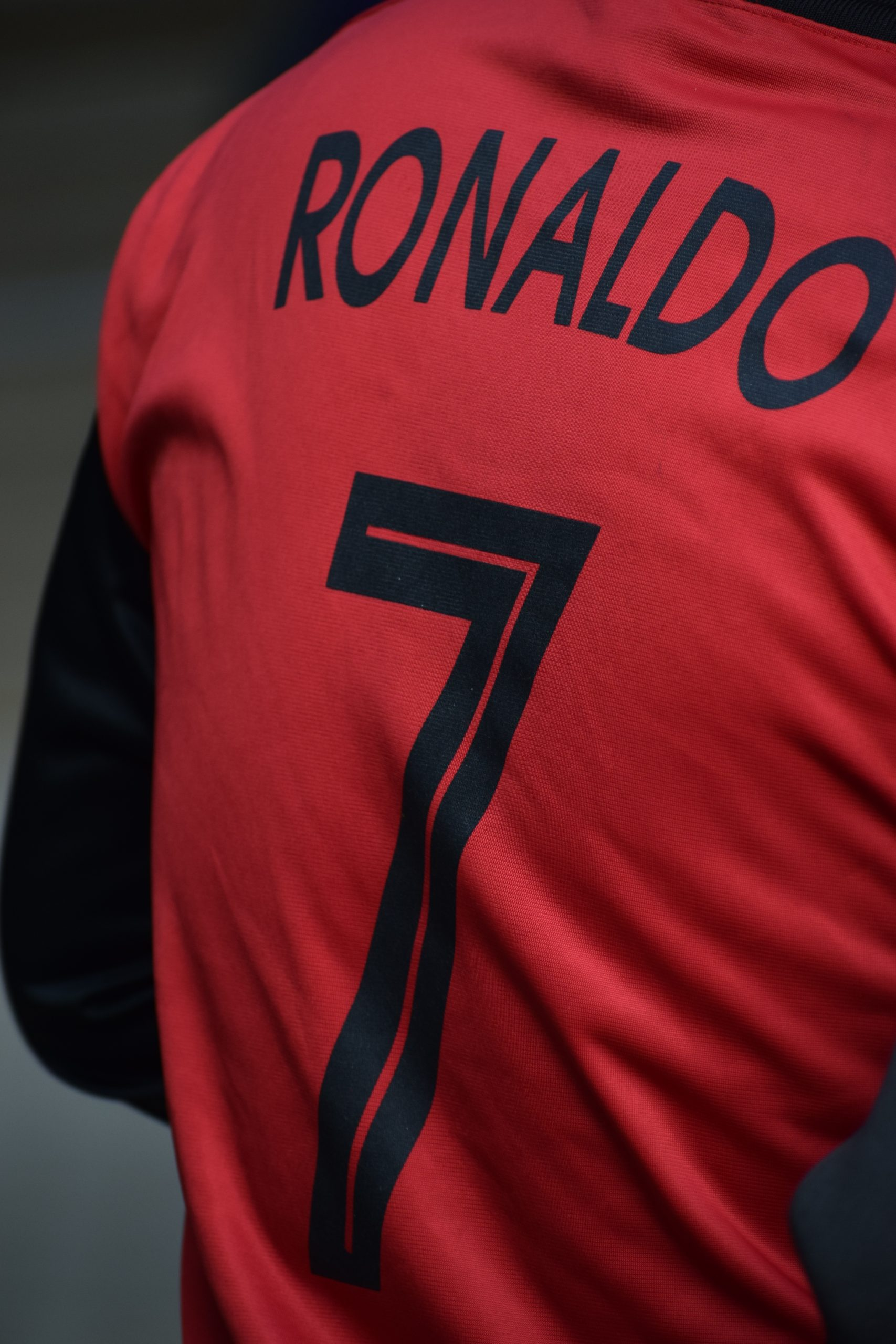 Red Ronaldo Jersey