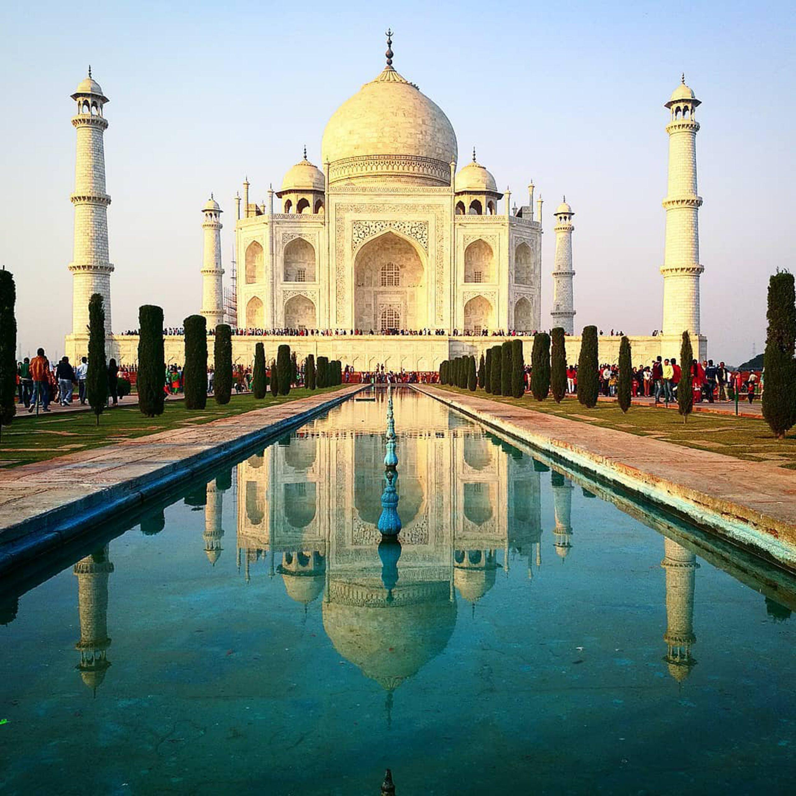 Reflecting Taj Mahal