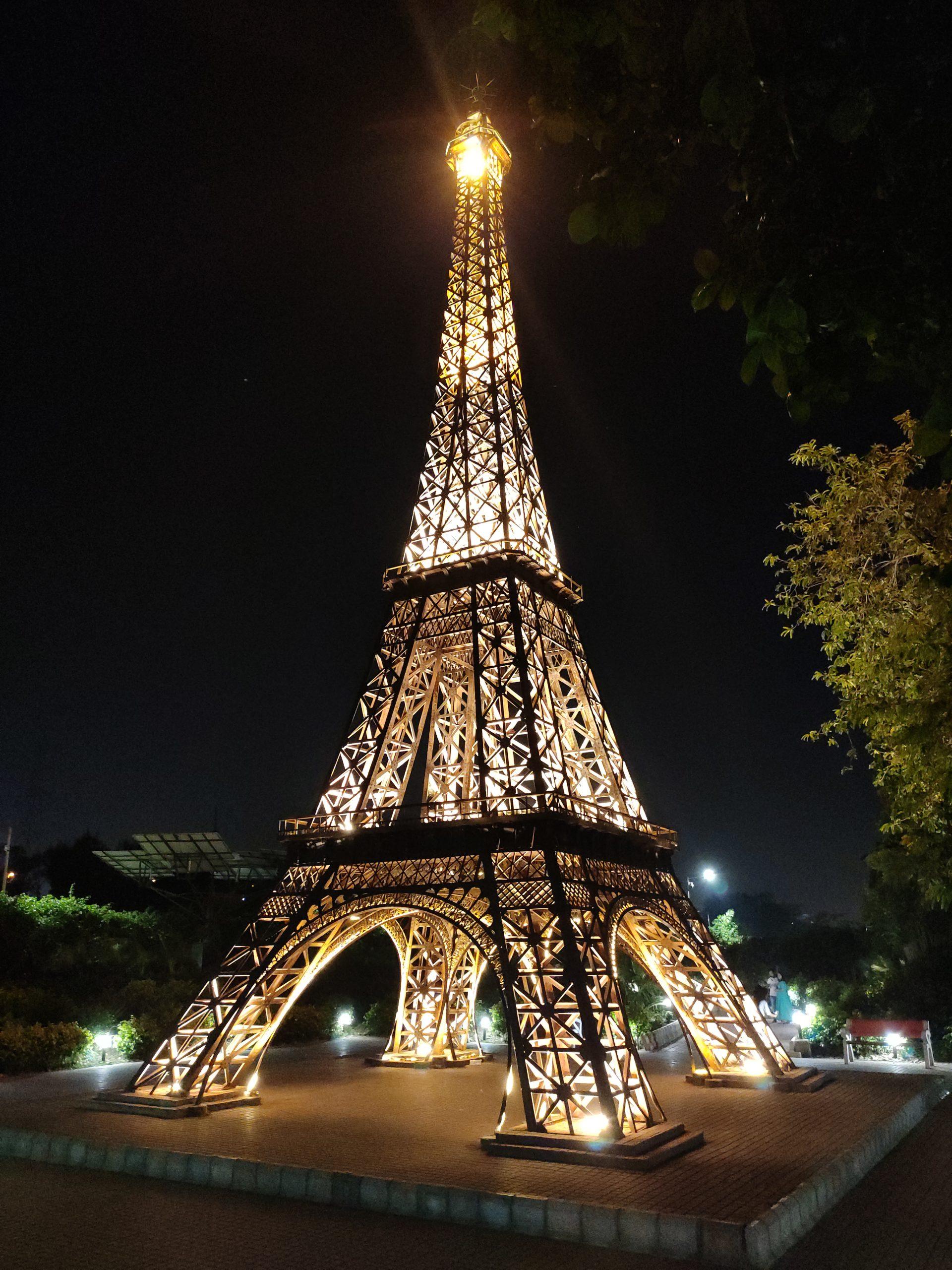 Replica of Eiffel Tower in Delhi, India