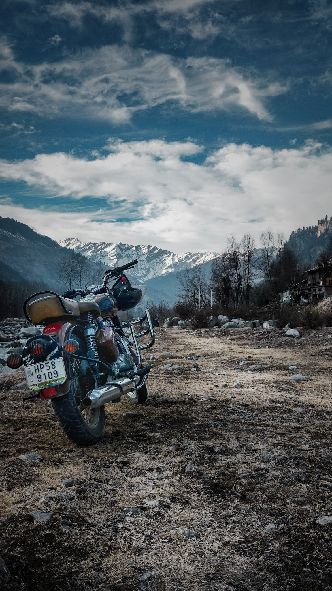 Off-roading in Himalayas.