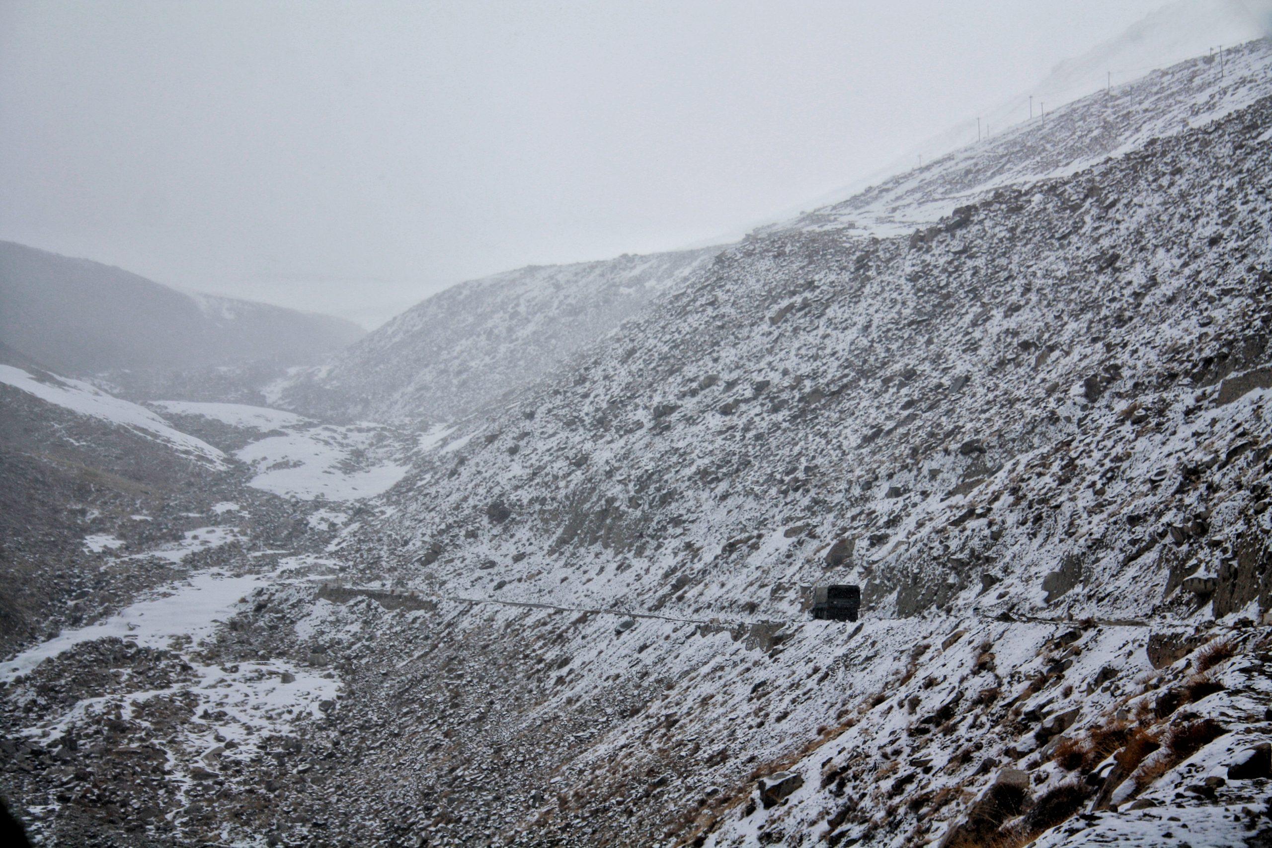 Leh Ladakh- freezing winter.