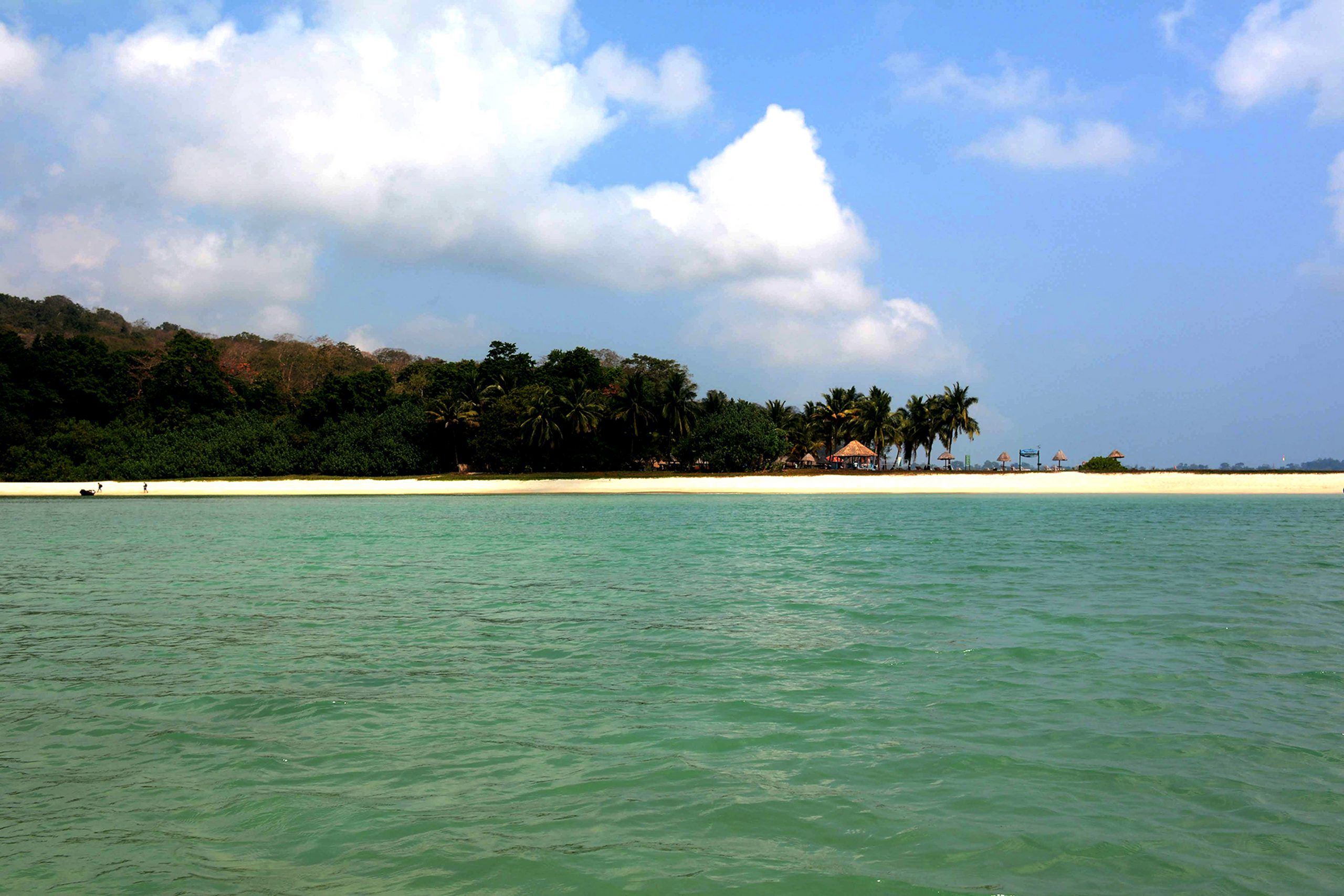 Ross Island Beach, Andaman