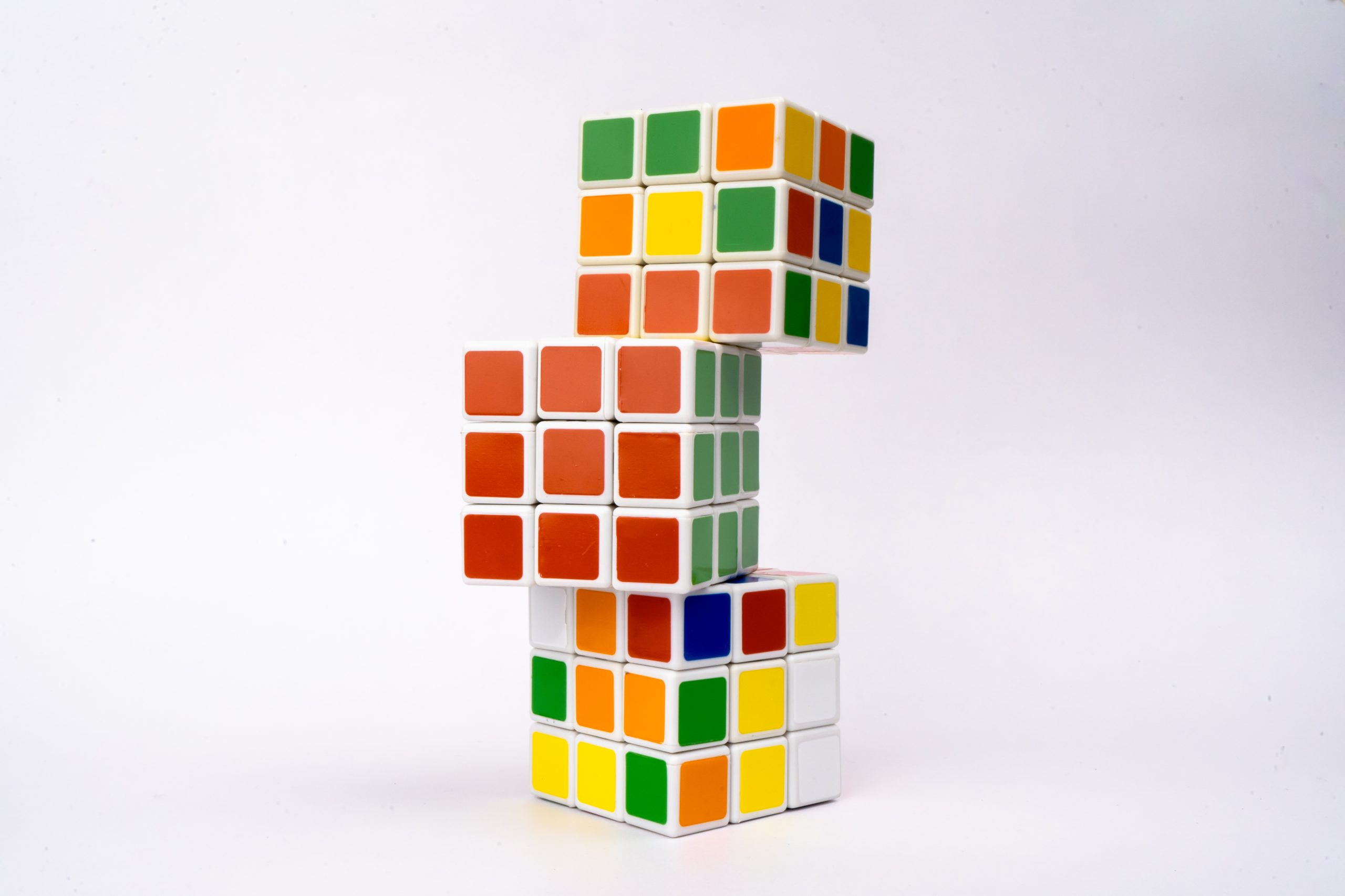 Rubik cube Tower
