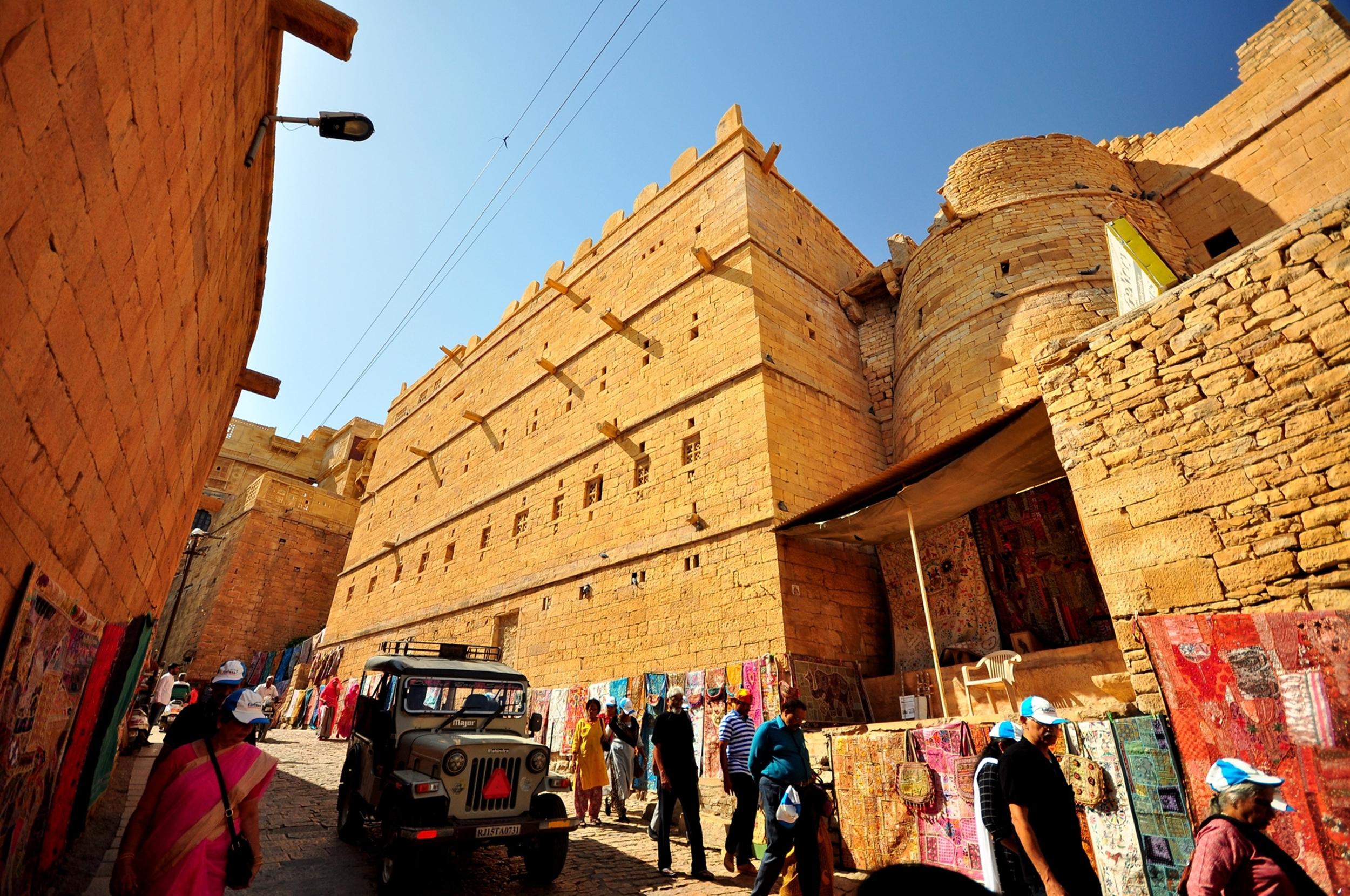 Tourist destination in Rajasthan SONAR KELLA