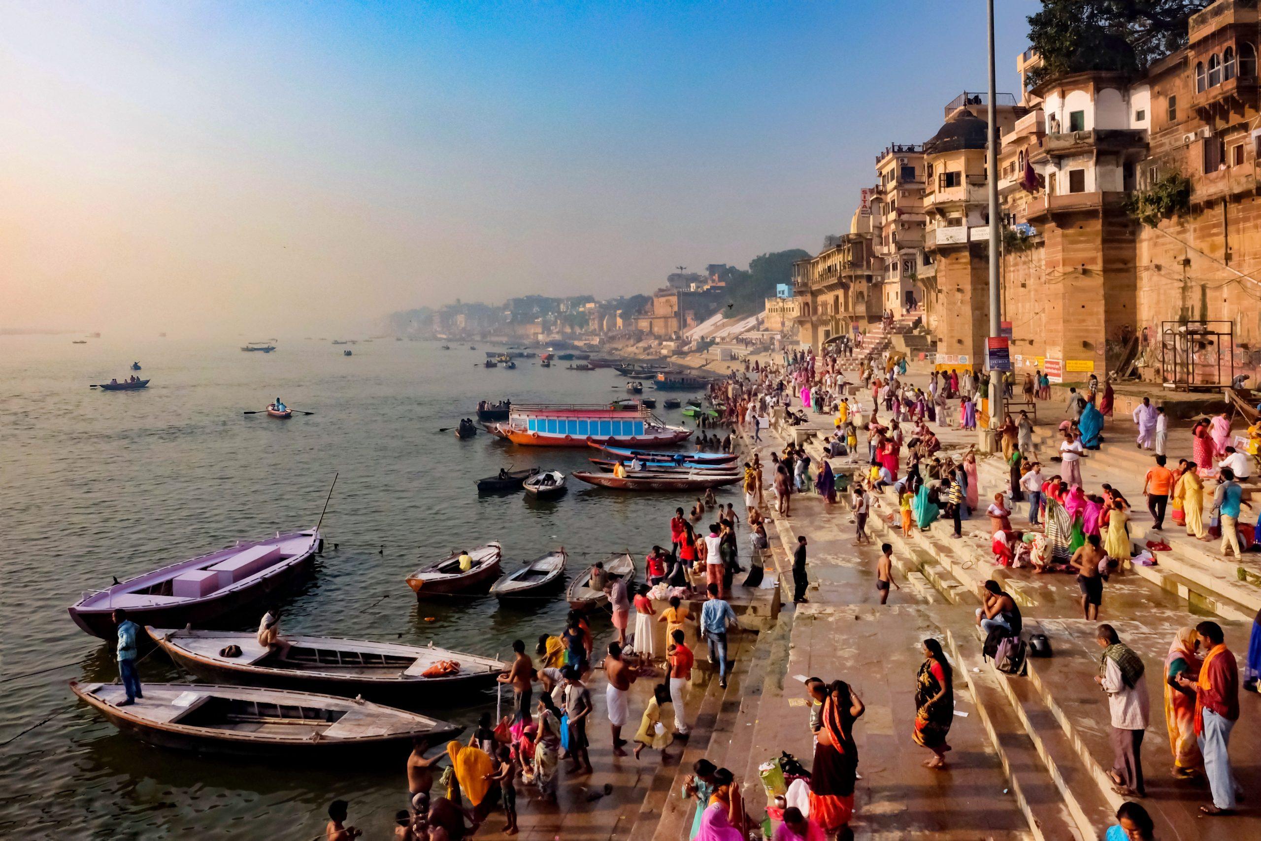 Sacred place Varanasi