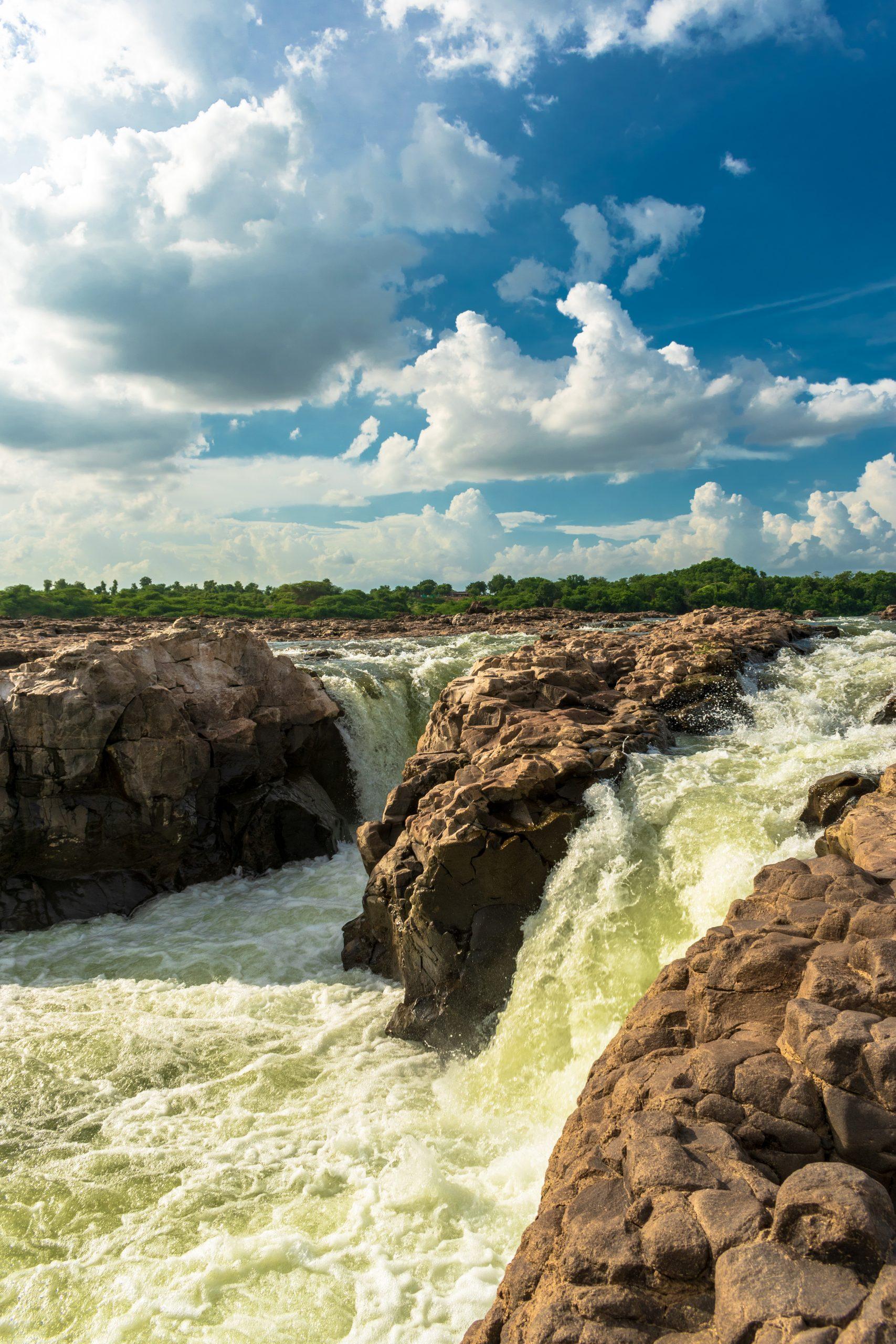 Sahastradhar waterfall, Maheshwar(M.P)