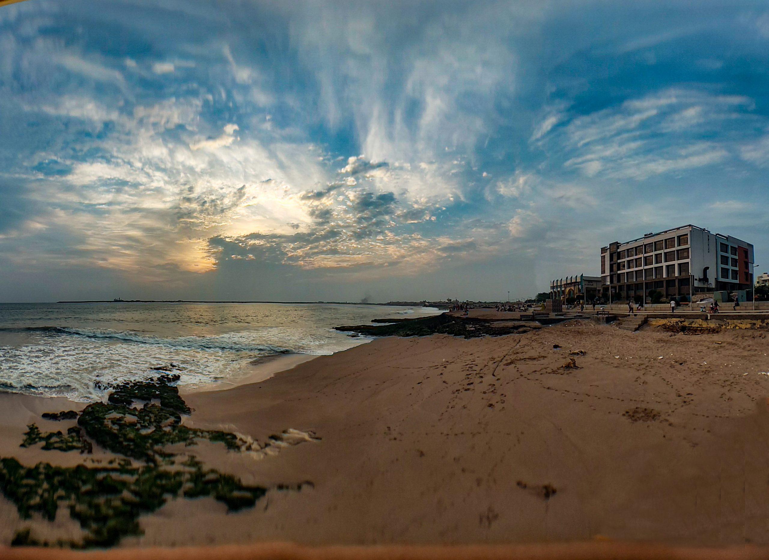 Sea Shore Scenery
