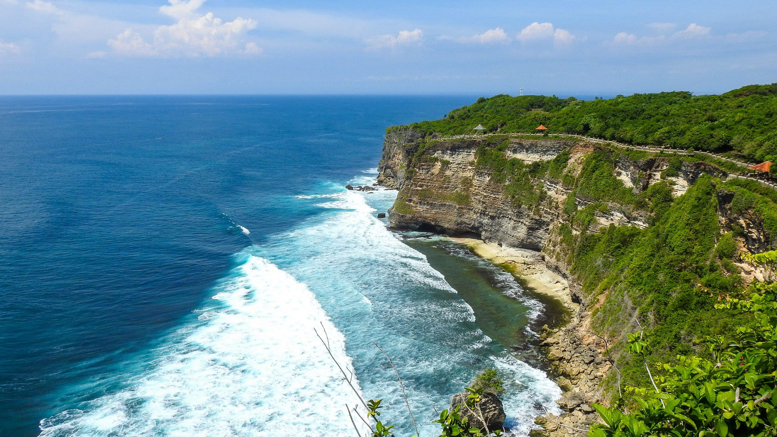 Sea cliff, Bali