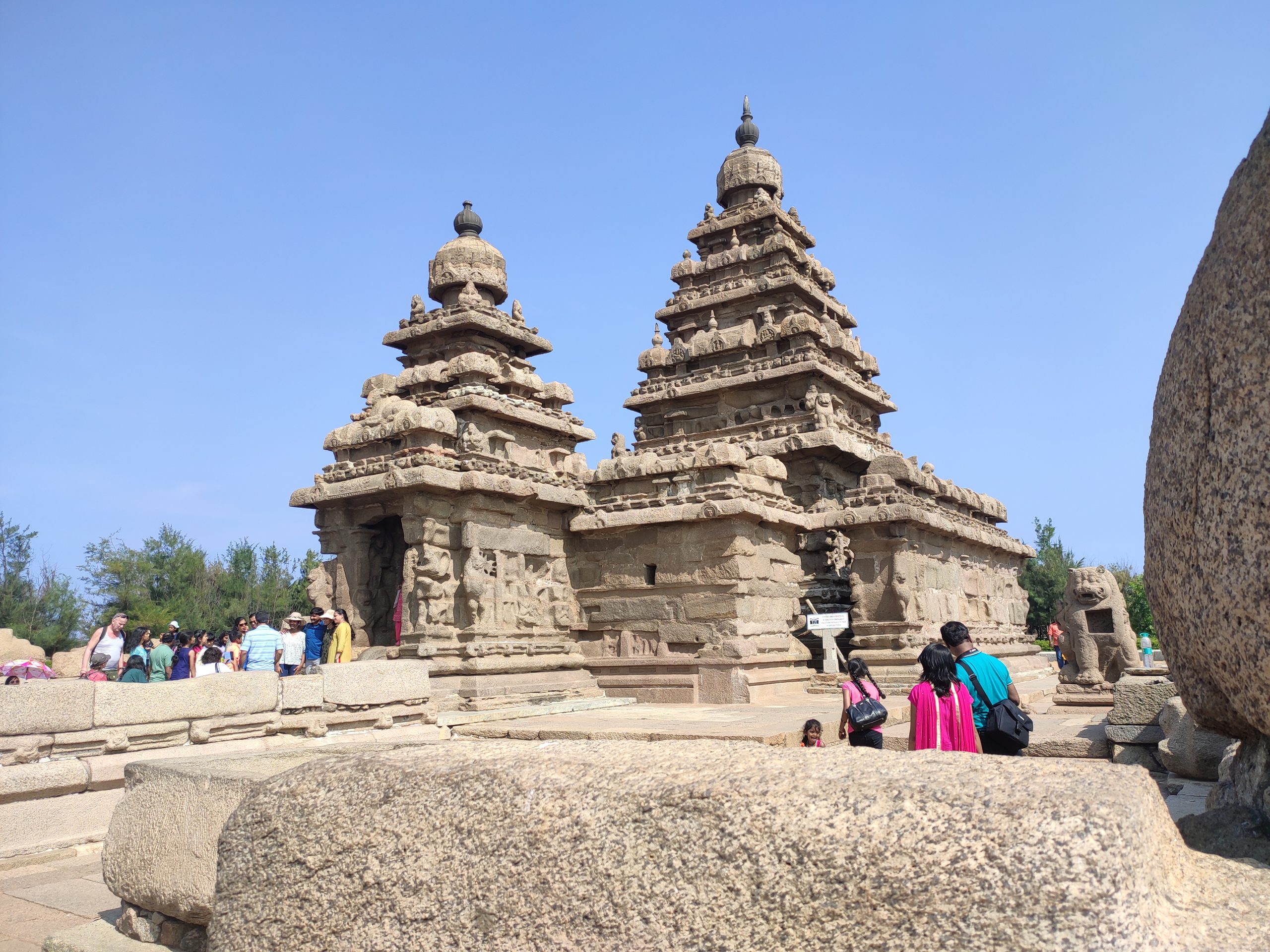 Historic Temple in India.