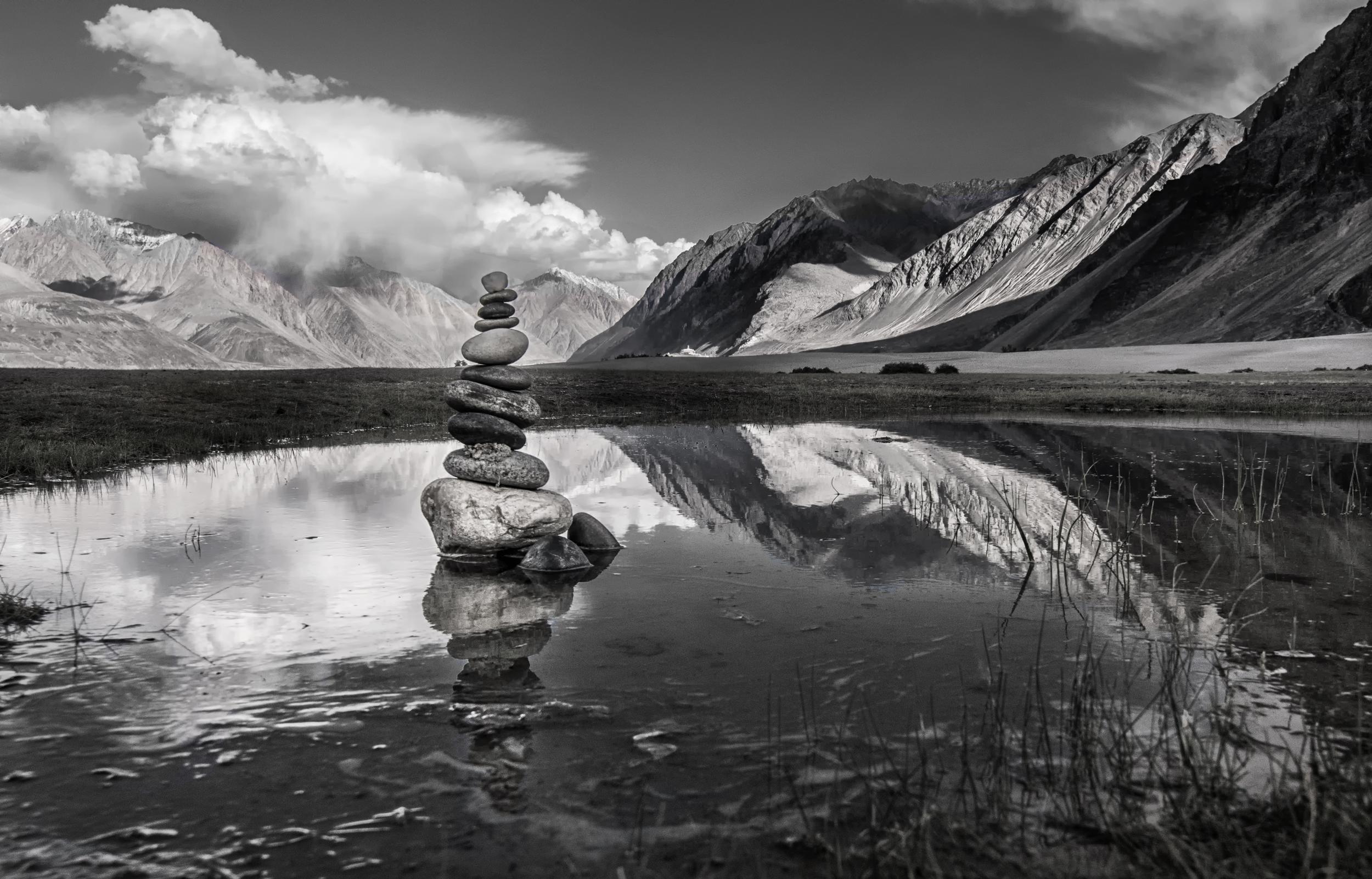 Serenity of Leh Ladakh