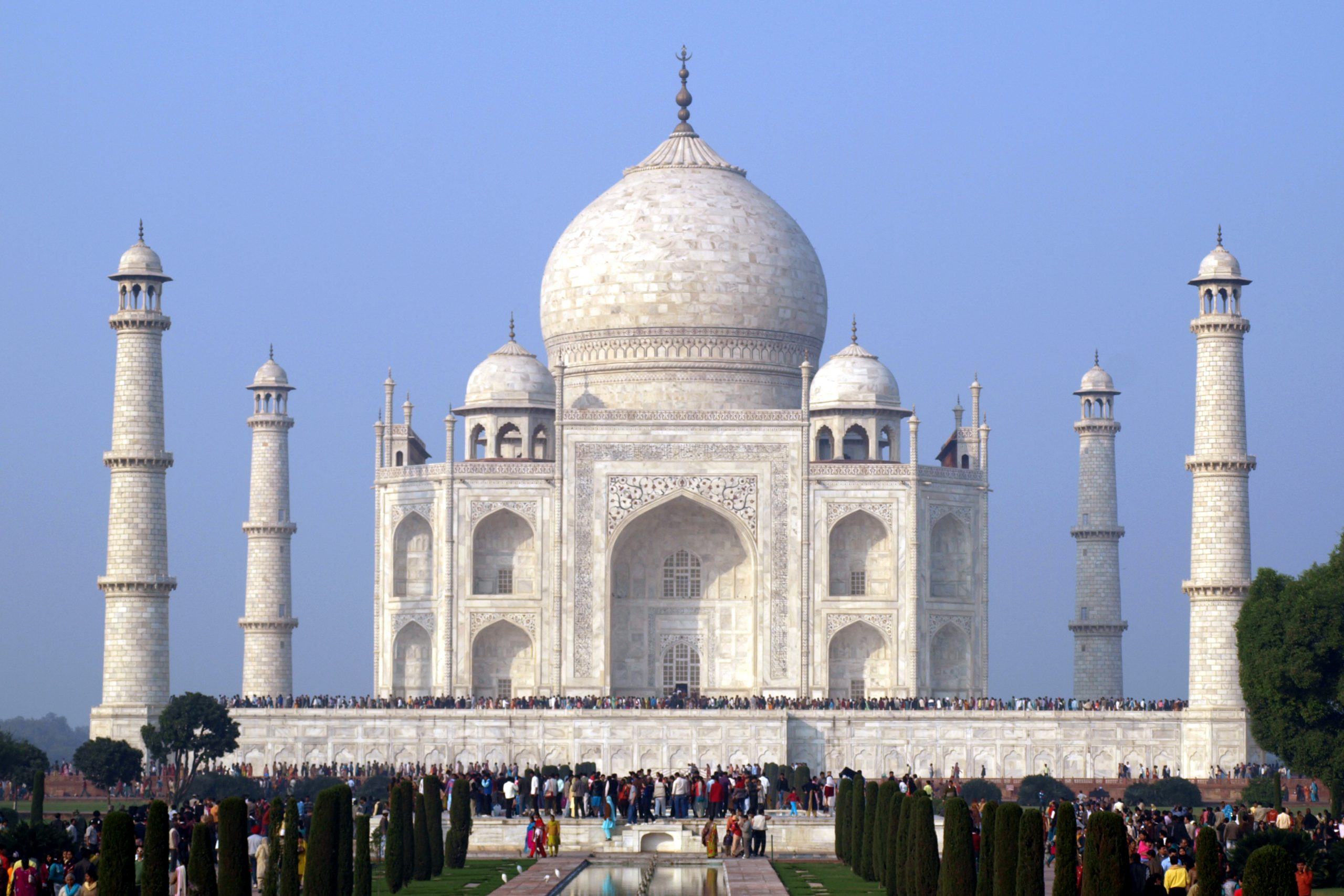 Shining beauty of Taj Mahal