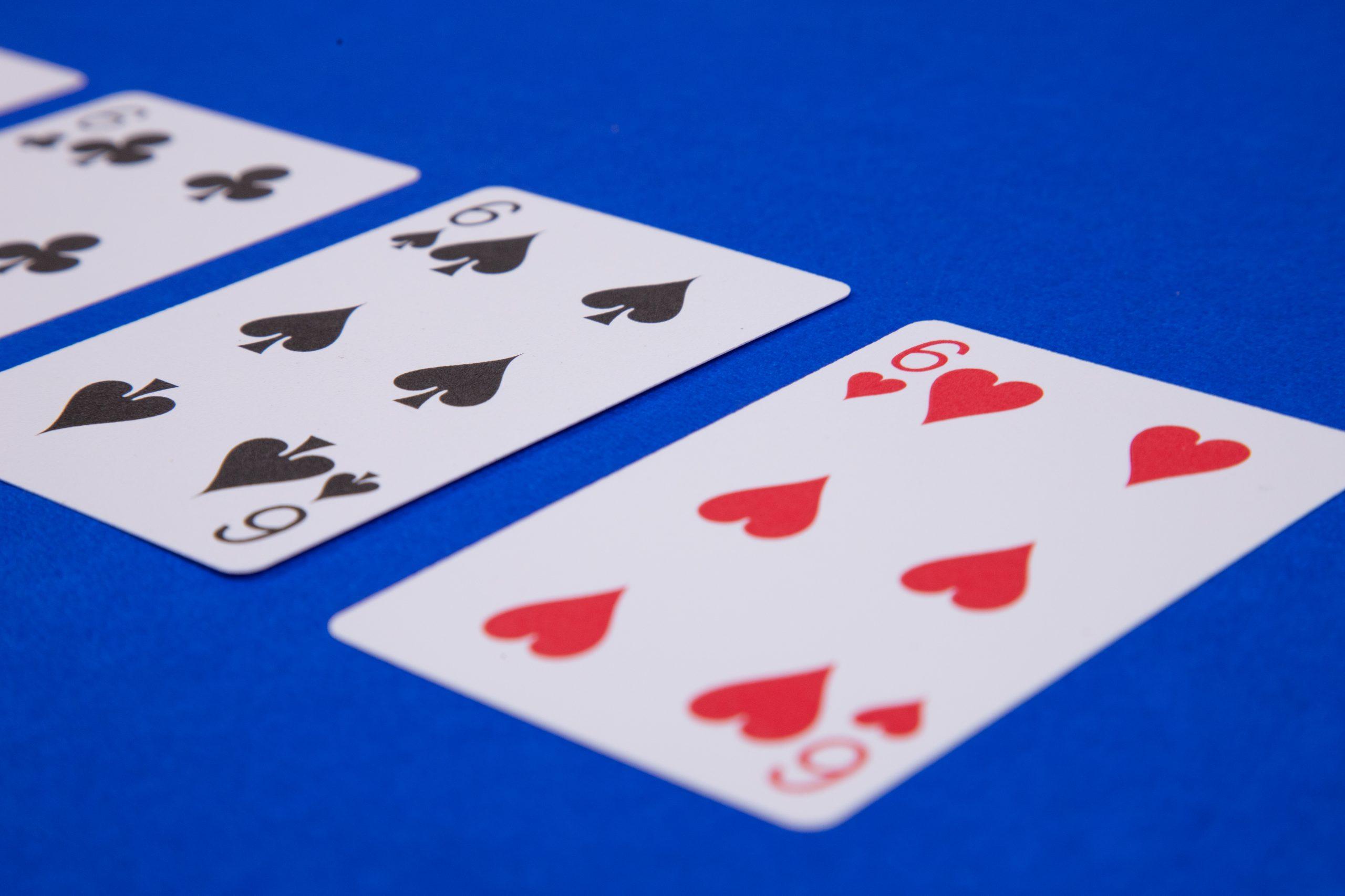 Six Card Closeup